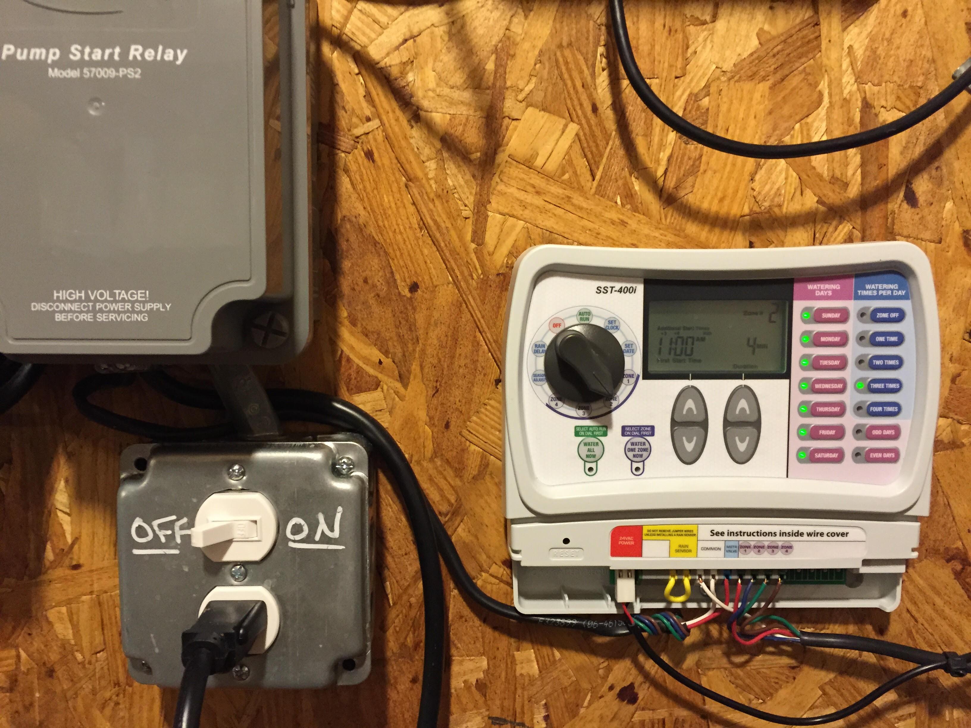 How To Wire An Orbit Pump Start Relay