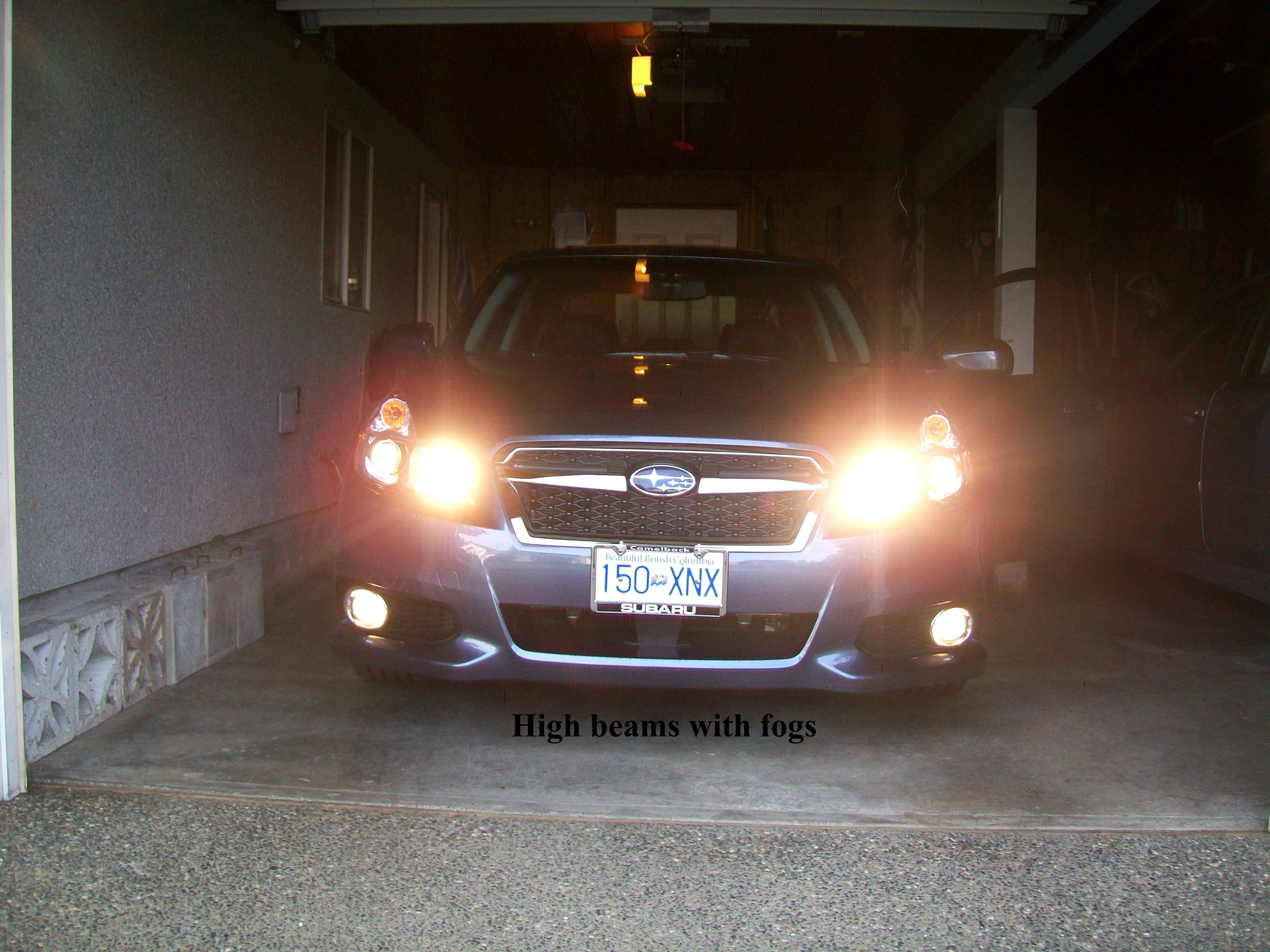 How to Wire Fog Lights without A Relay 5th Gen Independent Fog Light Mod Subaru Legacy forums Of How to Wire Fog Lights without A Relay