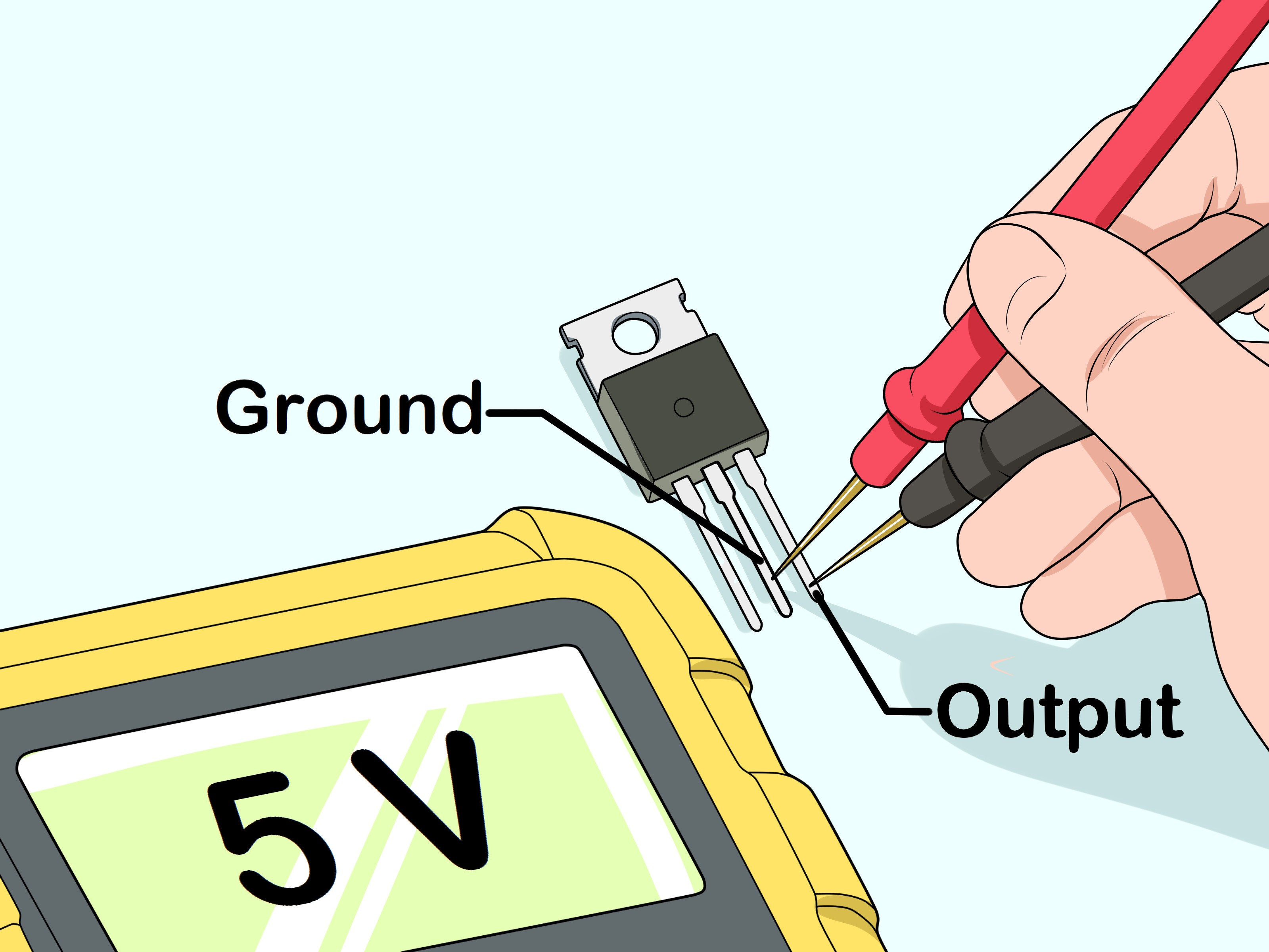 How to Wire Voltage Regulator On 2004 Club Car Golf Cart How to Test A Voltage Regulator 12 Steps with Of How to Wire Voltage Regulator On 2004 Club Car Golf Cart New Mitsubishi Generator Wiring Diagram Diagram