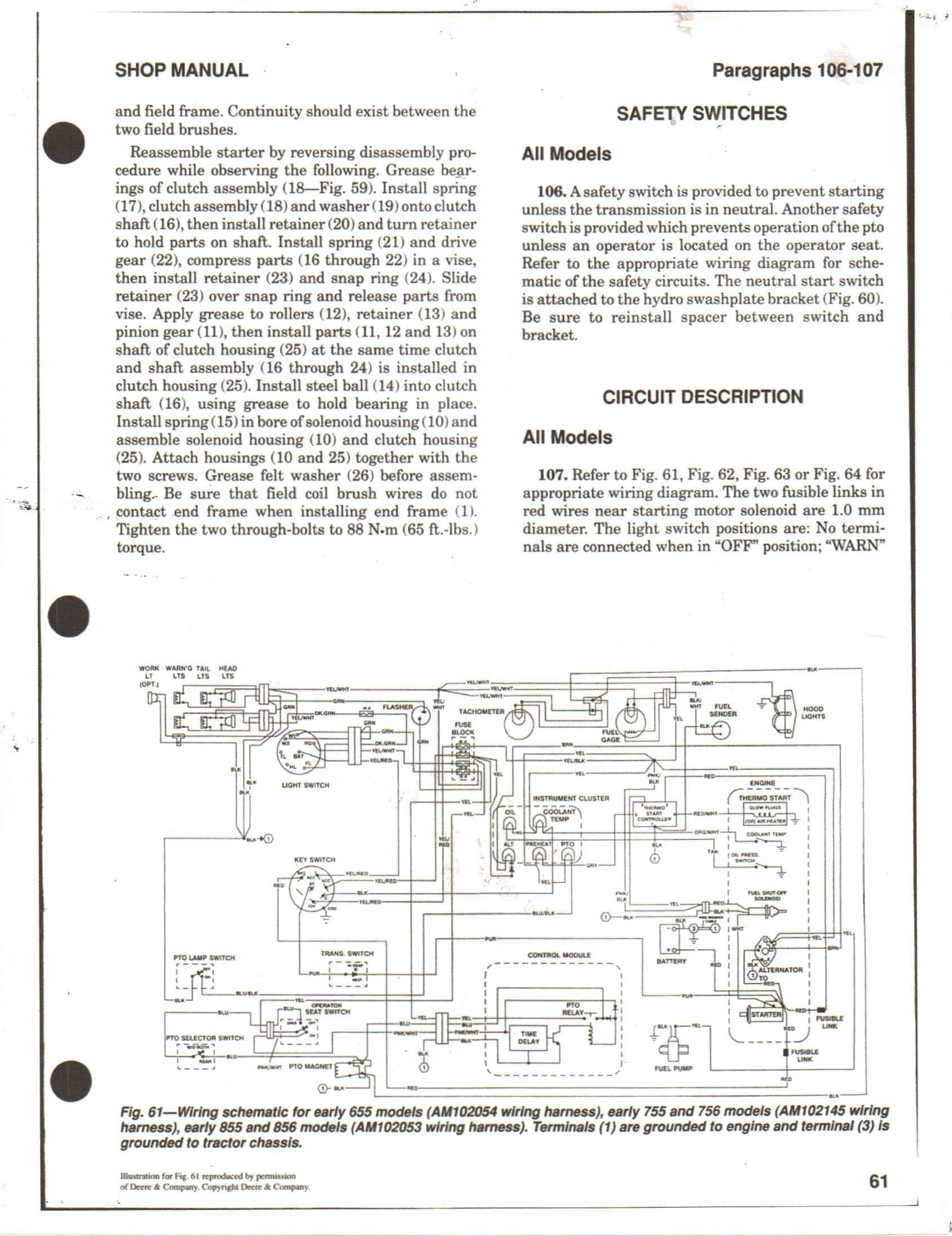 Jd 345 Electrical Diagram 56d25 John Deere 655 Wiring Diagram Of Jd 345 Electrical Diagram