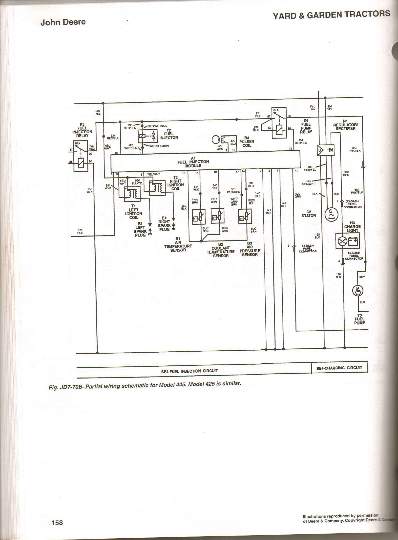 John Deere 345 Electrical Schematic