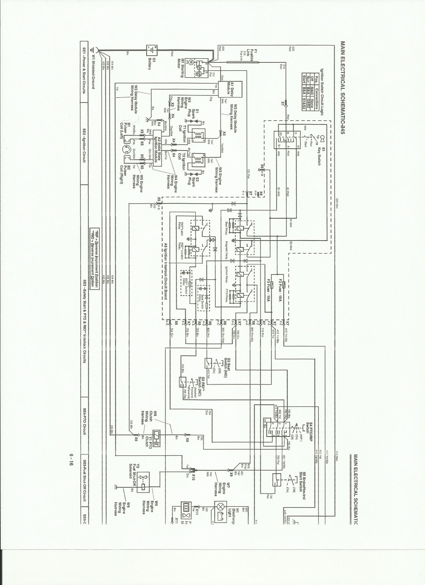 John Deere 345 Schematic 4726 John Deere 345 Engine Wiring Schematic Of John Deere 345 Schematic Cb 4290] for John Deere 1050 Tractor Wiring Diagram