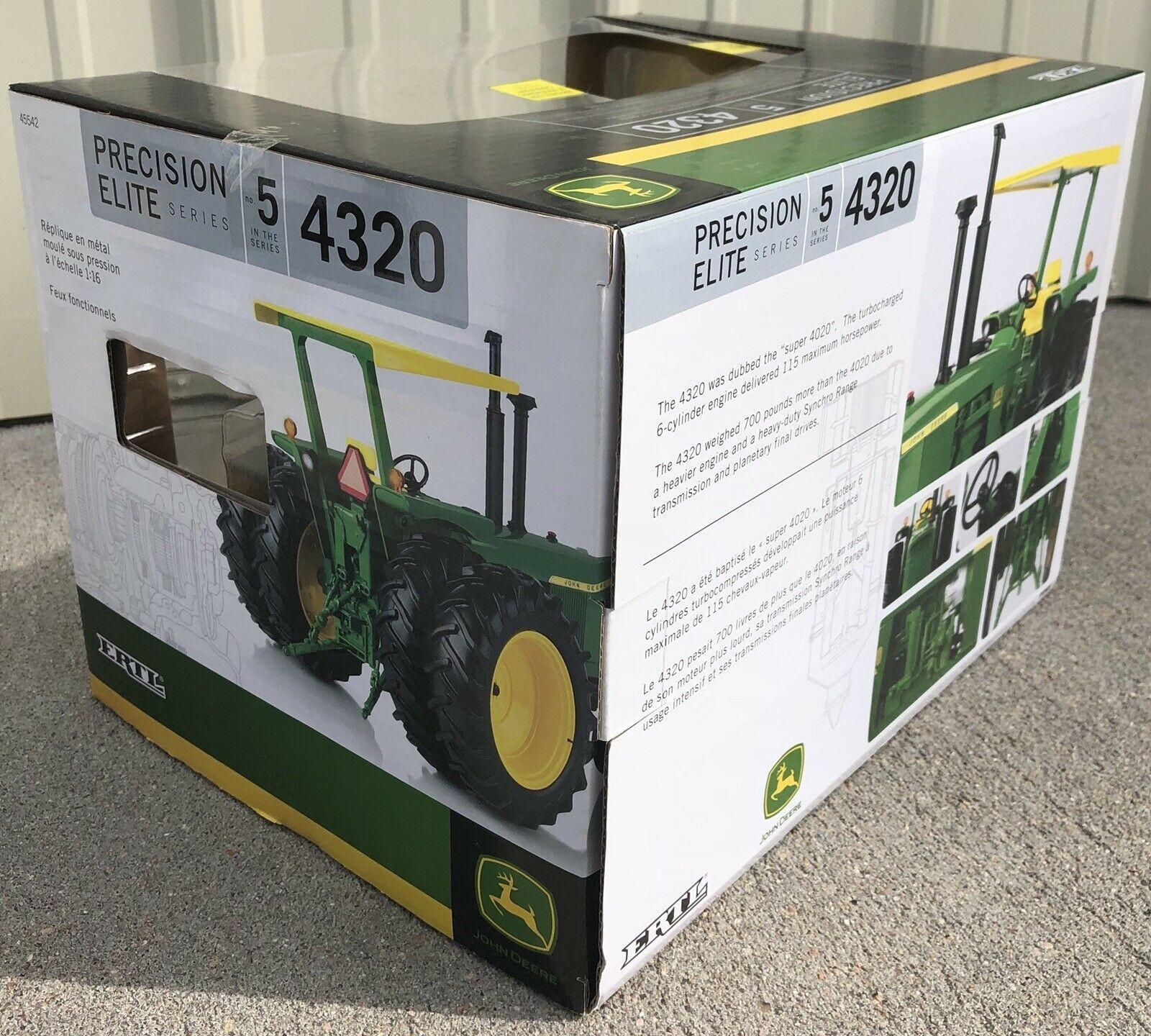 John Deere 4020 Fuses 100 Years Of Tractors Ertl Lp 1 16 Prestige Of John Deere 4020 Fuses