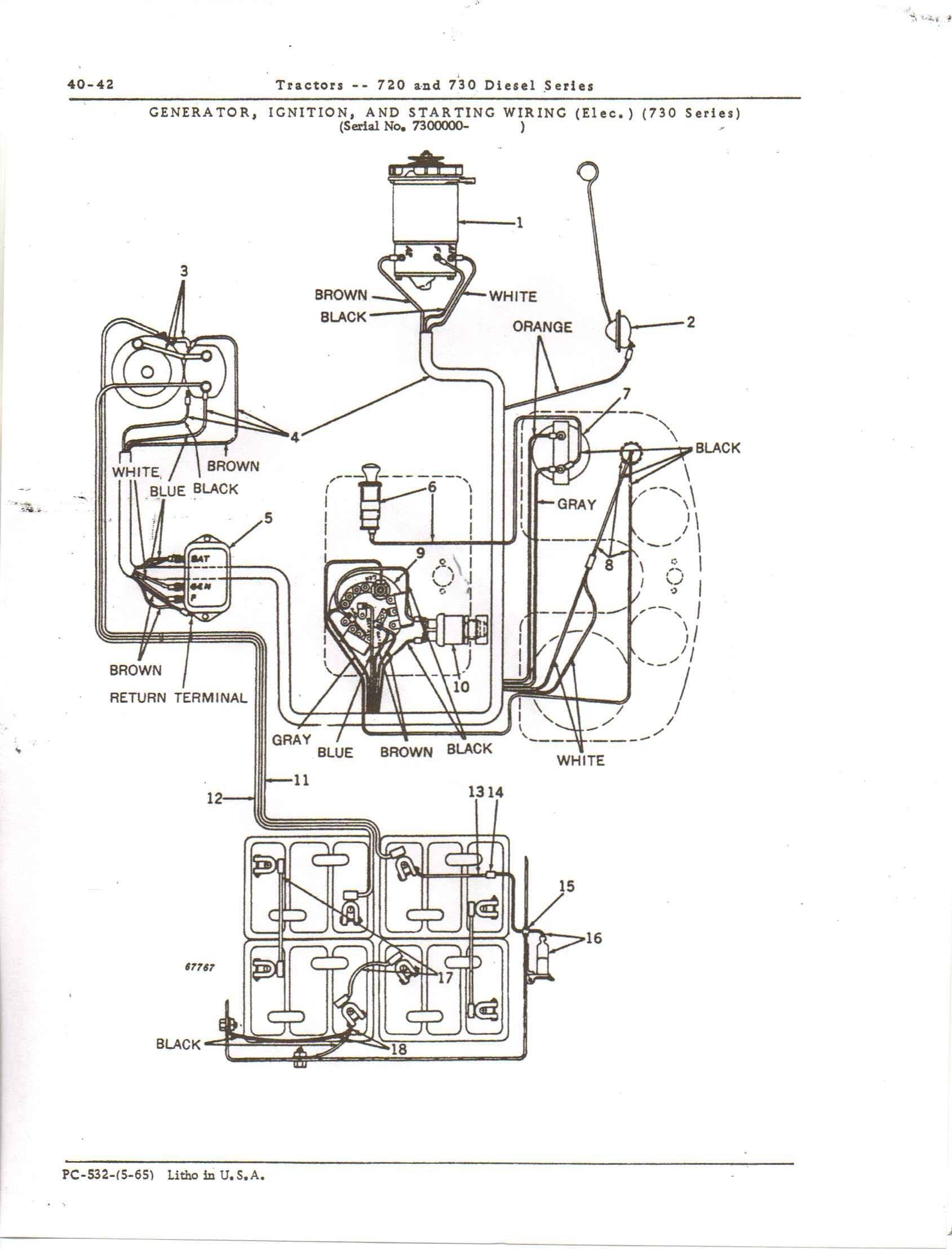 John Deere 4020 Wiring Schematics 4020 Lp Wiring Diagram Of John Deere 4020 Wiring Schematics