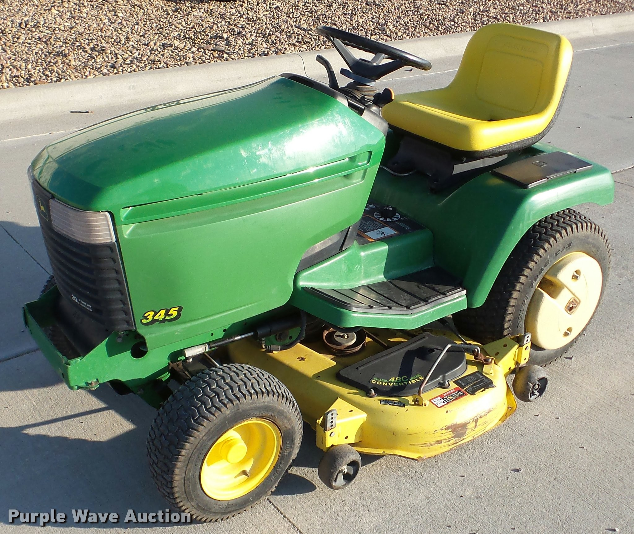 John Deere Modle 345 Electrical John Deere 345 Lawn Mower In Concordia Ks Of John Deere Modle 345 Electrical