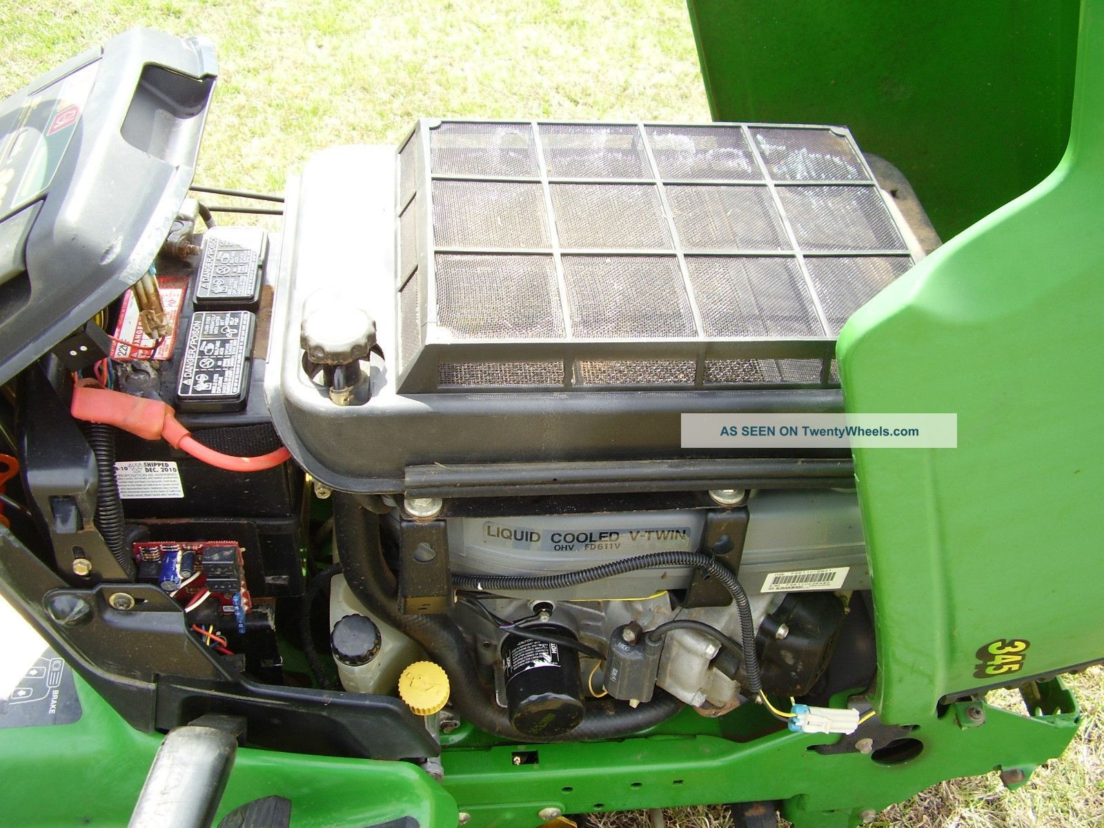 John Deere Modle 345 Electrical John Deere 345 Water Cooled 48 Inch Cut Power Steering Of John Deere Modle 345 Electrical