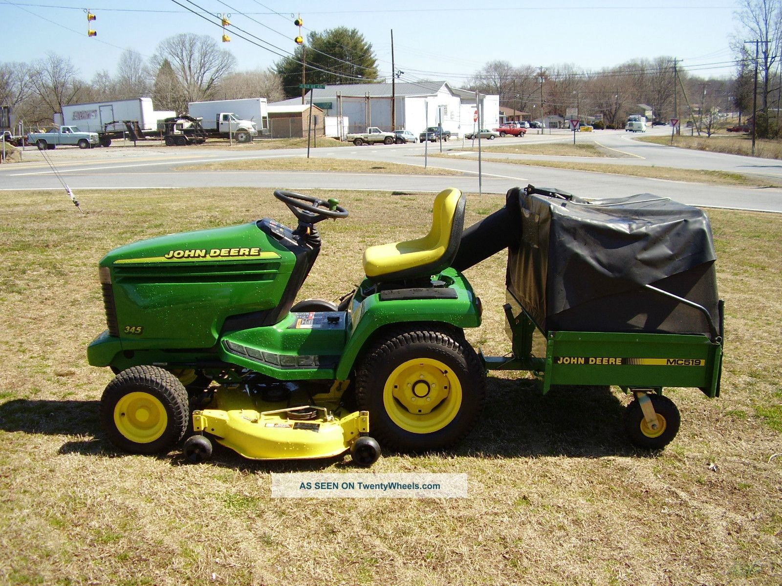 John Deere Modle 345 Electrical John Deere 345 Water Cooled Riding Mower Of John Deere Modle 345 Electrical