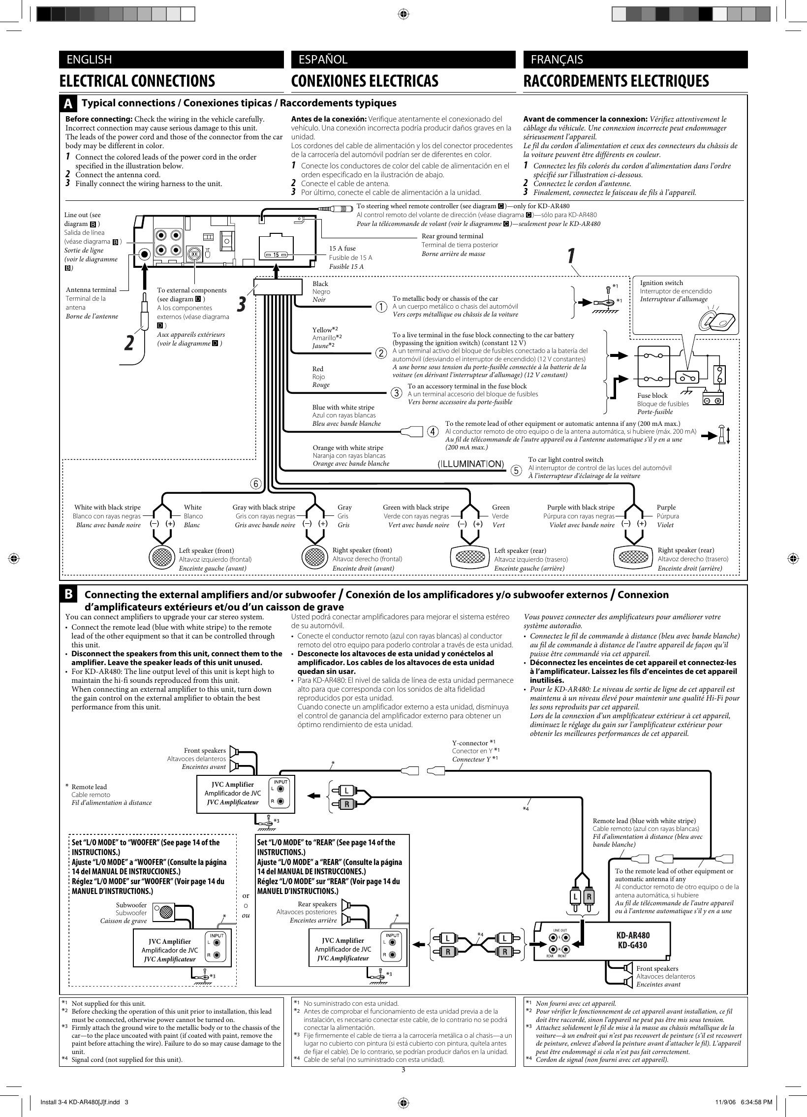 Jvc Kd-sr60 Wiring Diagram Jvc Kd G430 Installation Manual Install 1 2 Ar480[j]2 Of Jvc Kd-sr60 Wiring Diagram