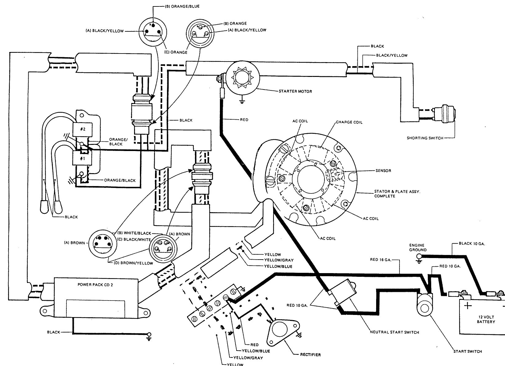 Key Switch Wire Diagram for A Mercury Outboaed with Chock Maintaining Johnson 9 9 Troubleshooting Of Key Switch Wire Diagram for A Mercury Outboaed with Chock