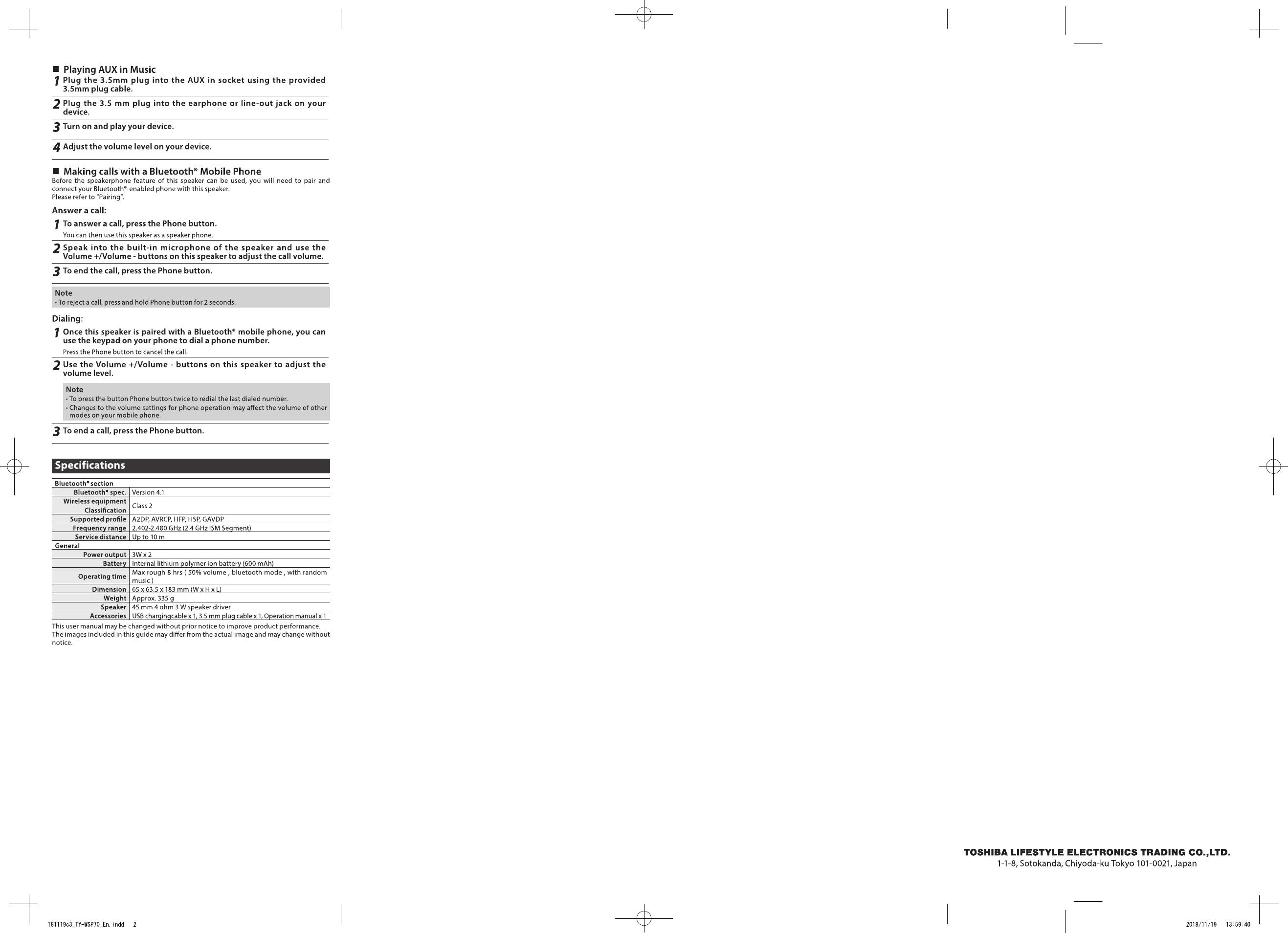 Kib Model M21vw Manual Pdf B25f Bluetooth Speaker User Manual C3 Ty Wsp70 Endd Of Kib Model M21vw Manual Pdf