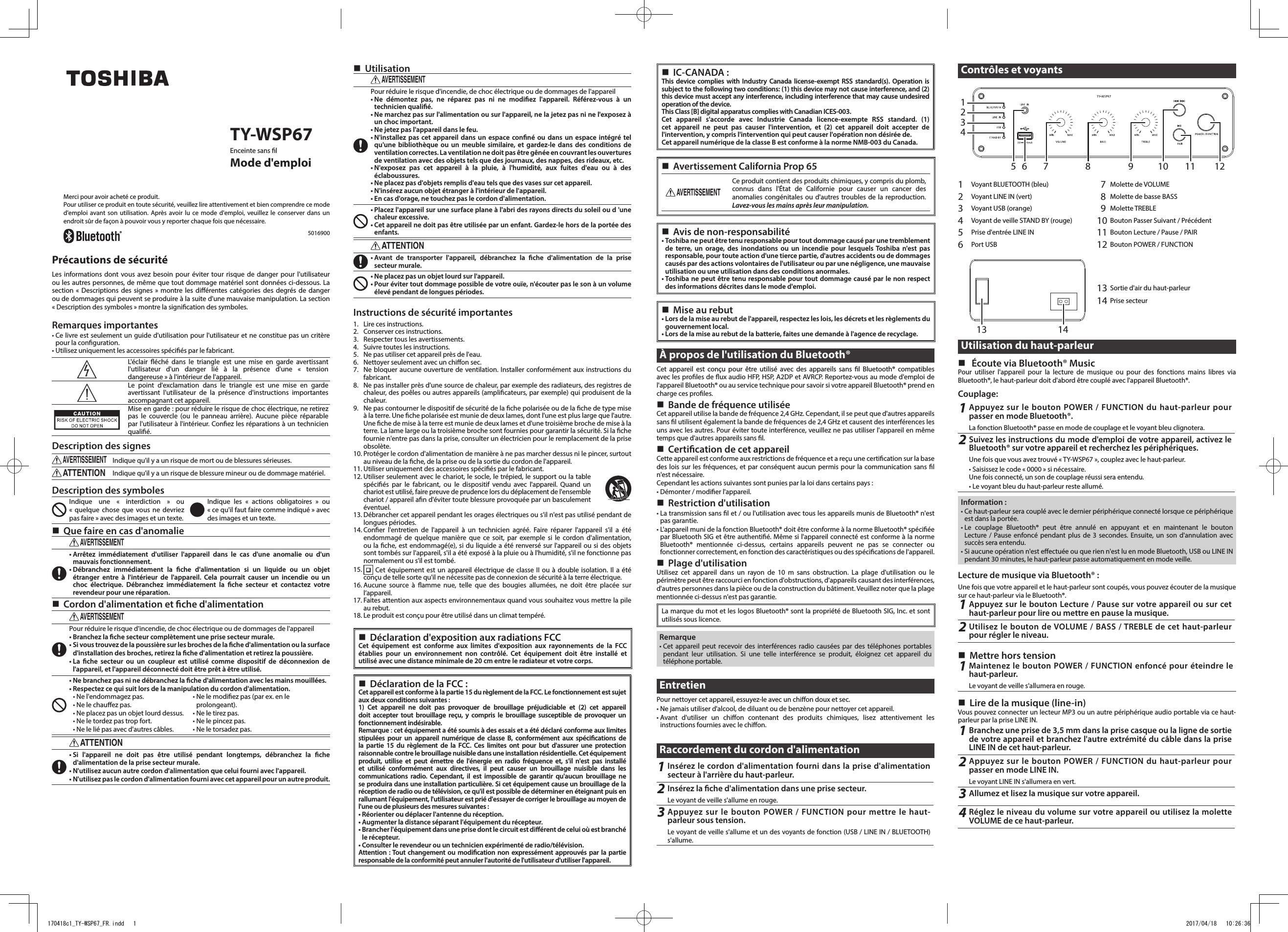 Kib Model M21vw Manual Pdf Wsp67 Wireless Speaker User Manual C1 Ty Wsp67 Endd Of Kib Model M21vw Manual Pdf