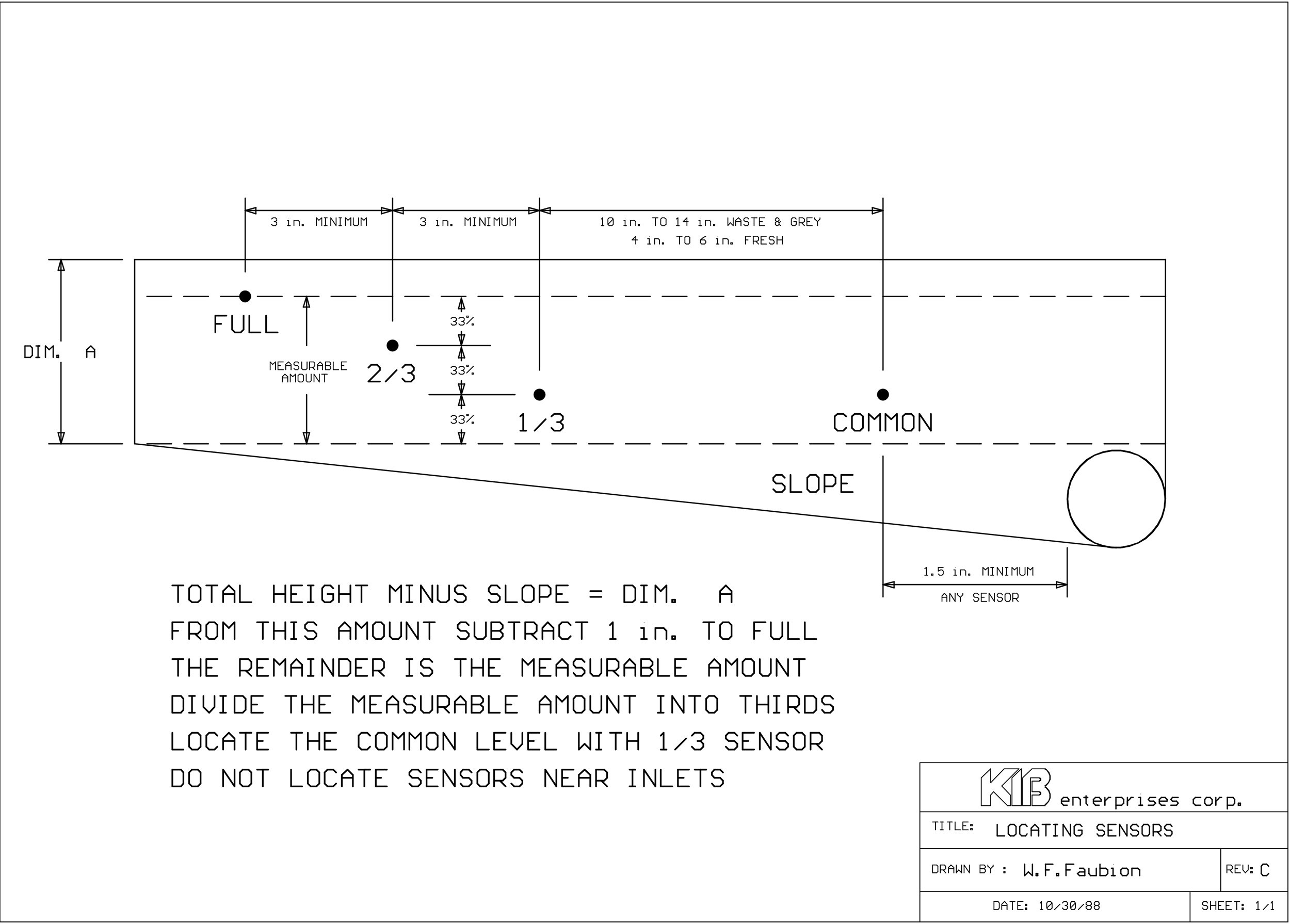 Kib Tank Monitor Instructions Vz 6646] Rv Holding Tank Sensor Wiring Free Diagram Of Kib Tank Monitor Instructions