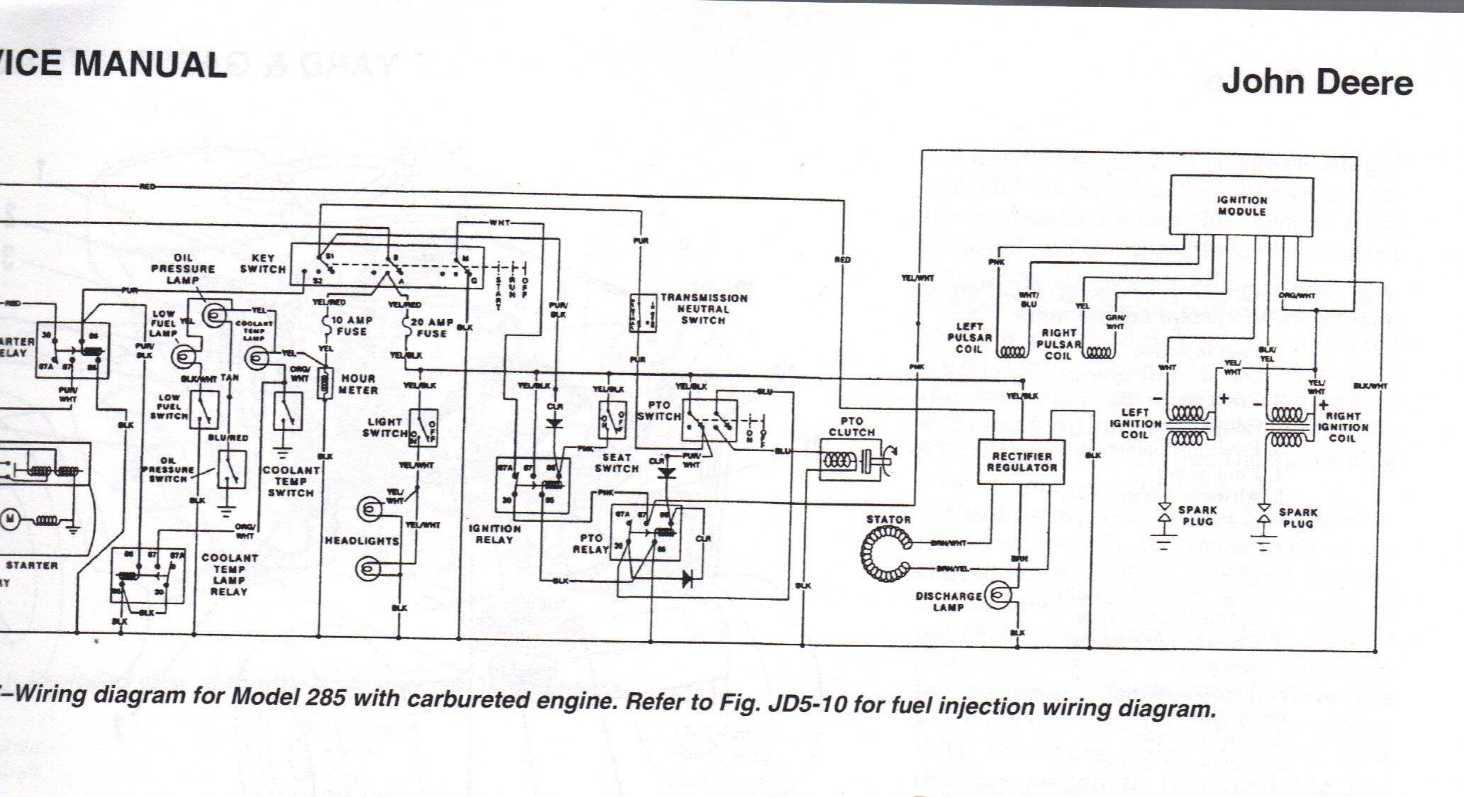 Late John Deere 12 Volt 4020 Diesl Wiring Diagram Ww 1570] for John Deere 1050 Tractor Wiring Diagram Free Diagram Of Late John Deere 12 Volt 4020 Diesl Wiring Diagram