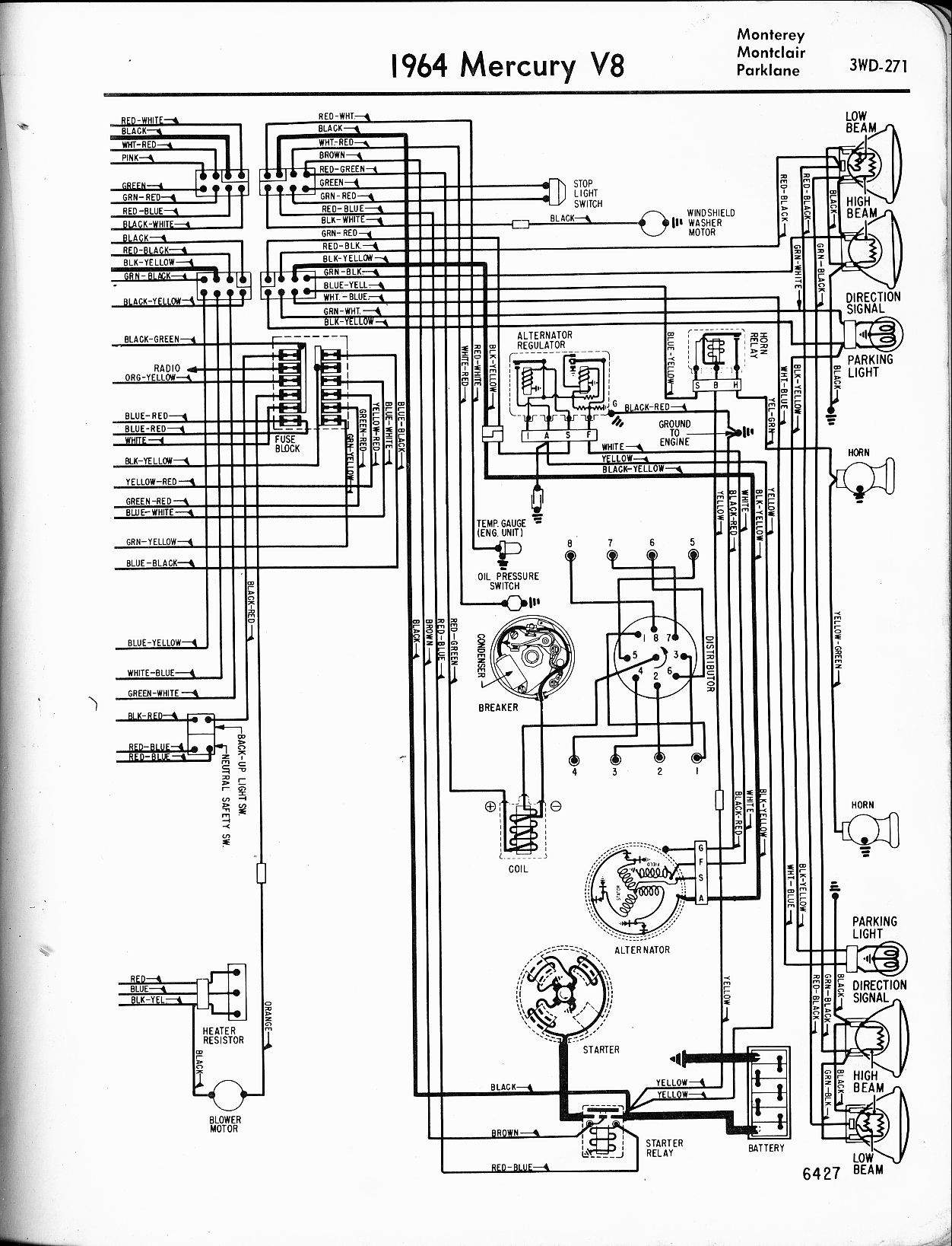 51 Mercury Wiring Diagram