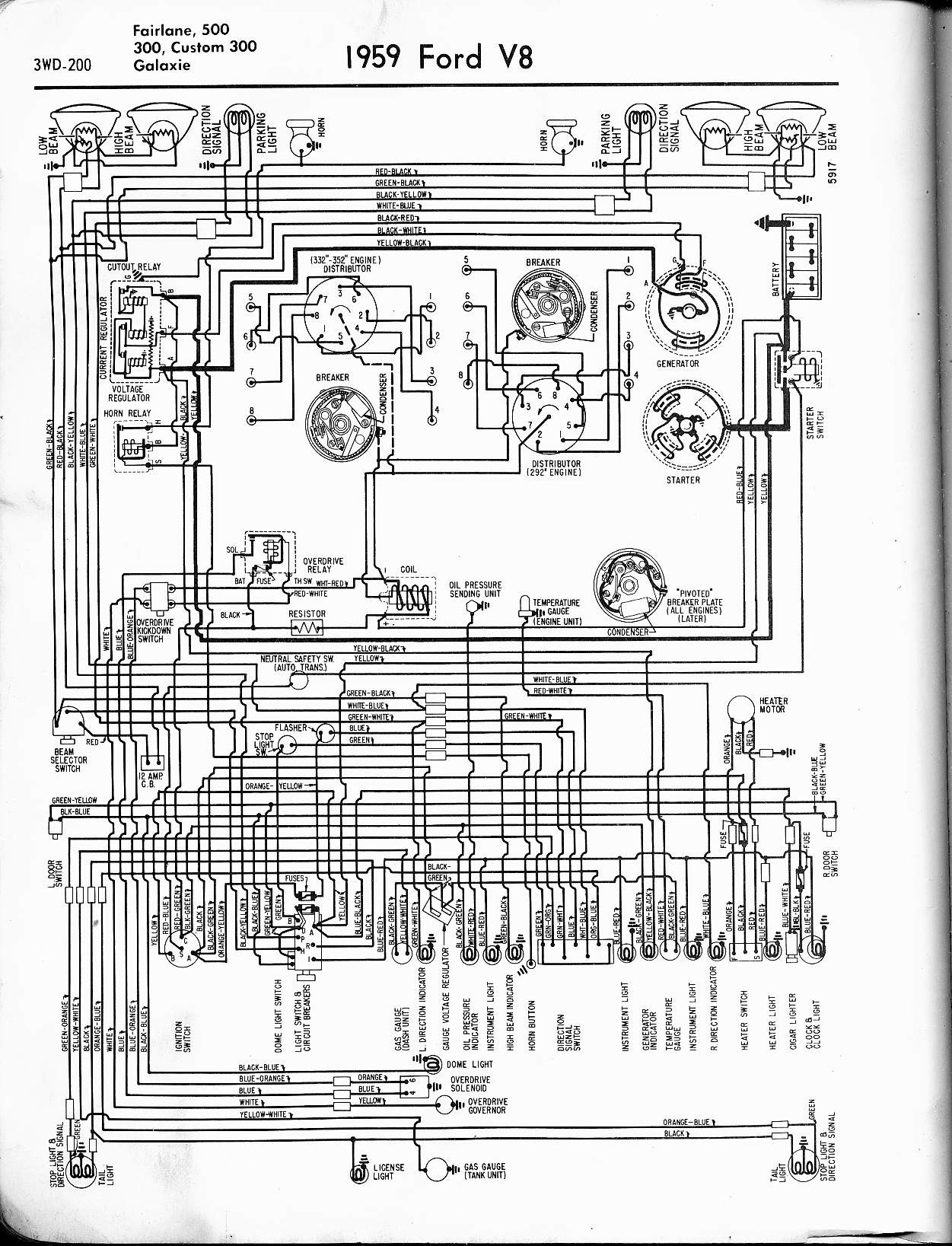 Mercury Mark 55e Wiring Diagram 57 65 ford Wiring Diagrams Of Mercury Mark 55e Wiring Diagram