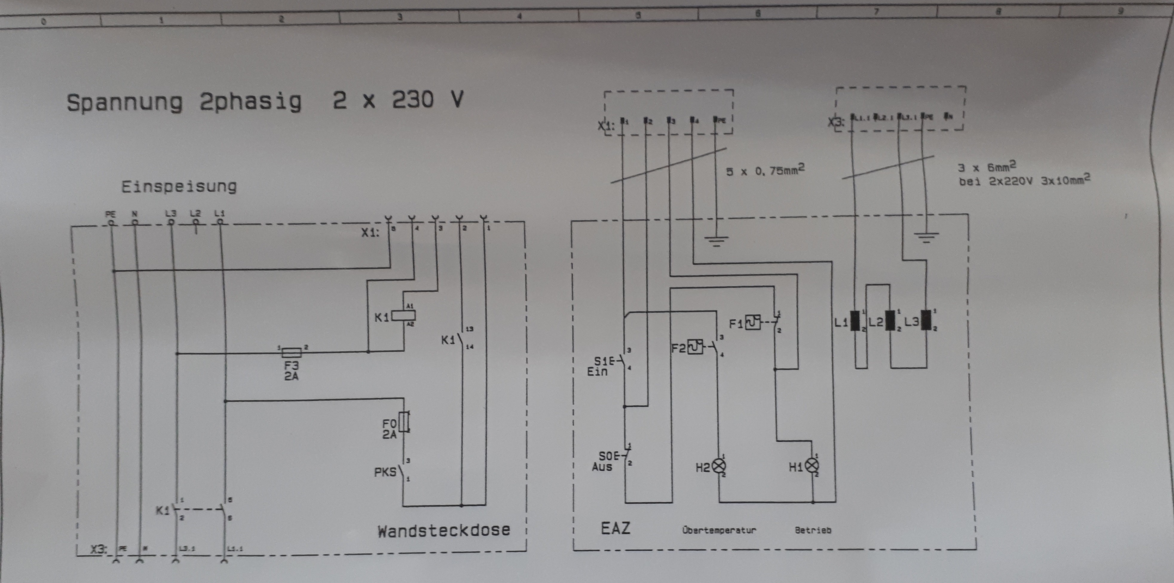 Power Converter 6345 Wiring Diagram 3 Phase 380 V to 3 Phase 230 V Electrical Engineering Of Power Converter 6345 Wiring Diagram
