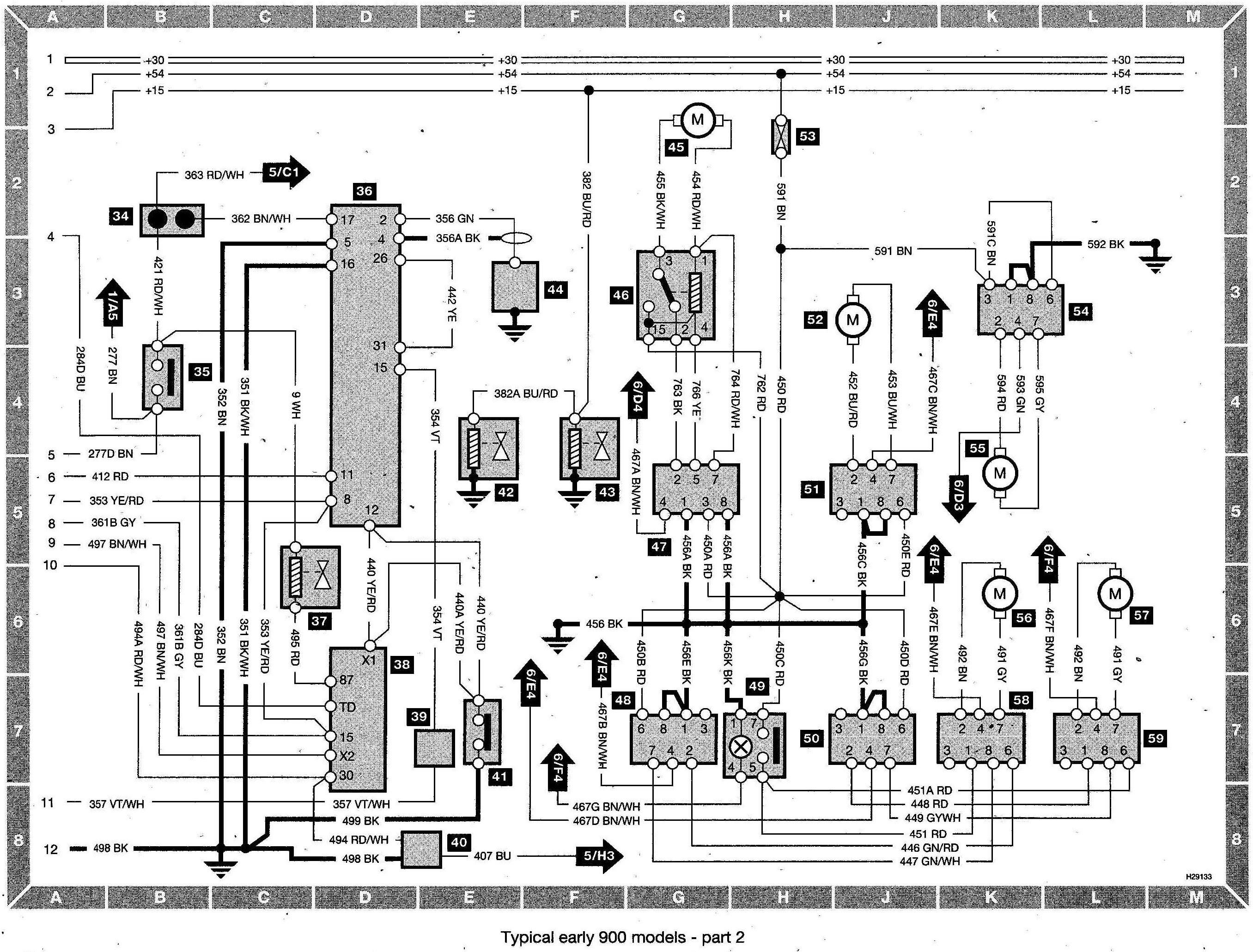 Saab 93 Stereo Wiring 80d Saab 9 3 Aircon Wiring Diagram Of Saab 93 Stereo Wiring