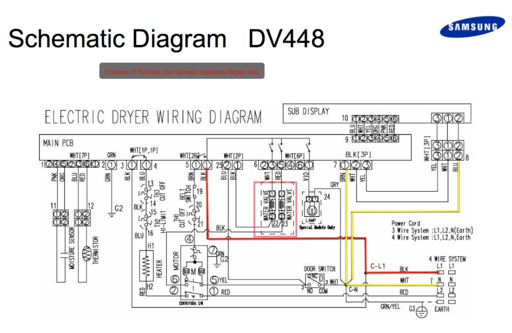 Samsung Dryer Dve G 50r5400 Wiring Diagrams Samsung Dryer Dv448agp Xaa Dead the Laundry Appliance Repair forum Do It Yourself