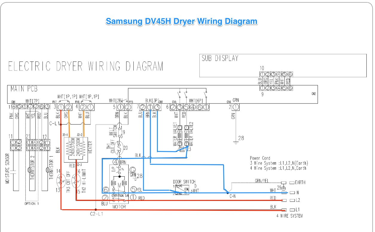 Samsung Dryer Dve G 50r5400 Wiring Diagrams We Replaced the 3 Prong Cord On Our Dryer with A 4 Prong What Did We Do Wrong Electrical Of Samsung Dryer Dve G 50r5400 Wiring Diagrams
