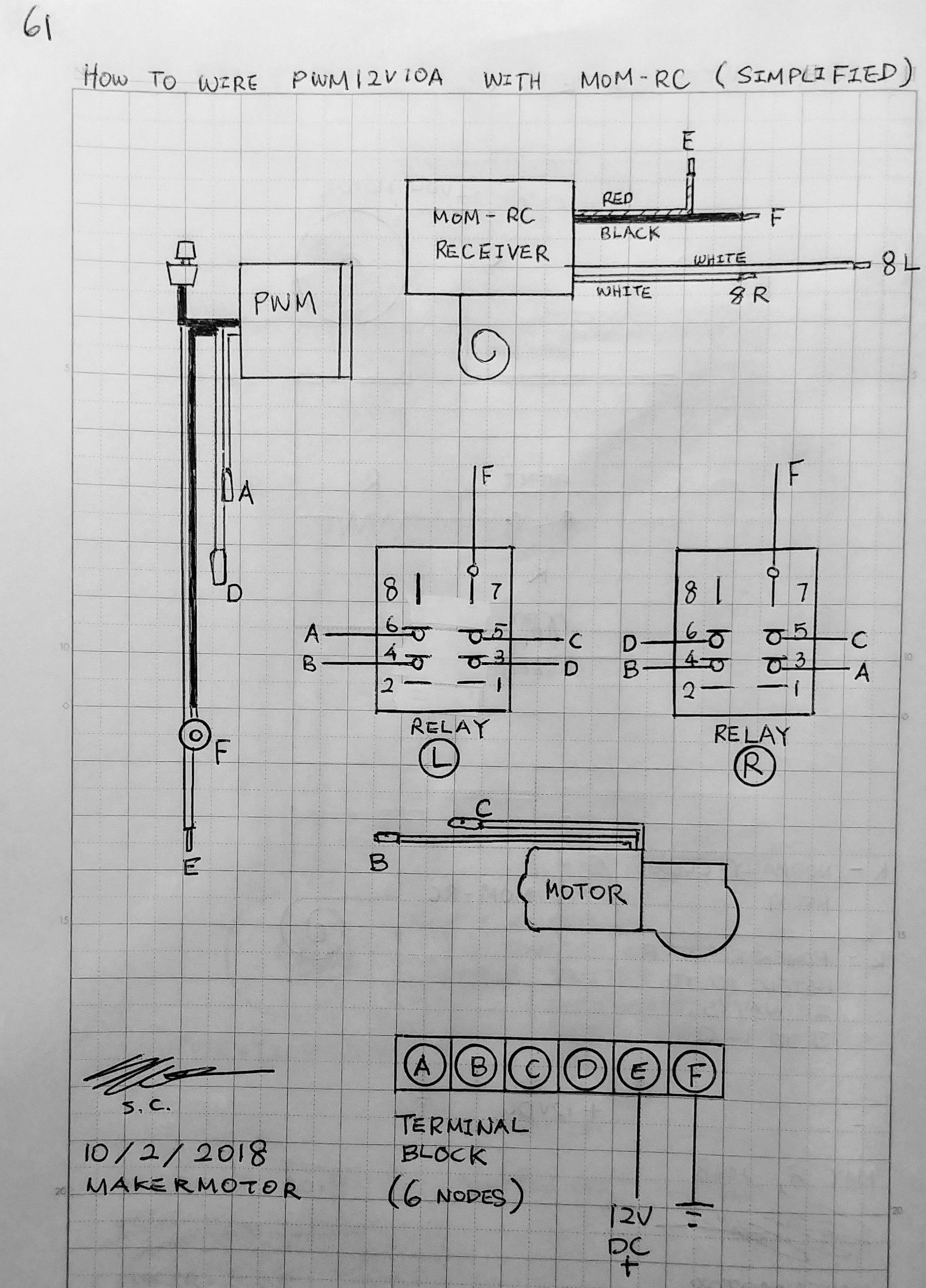 Schematic Of Rc Electric Motor Circuit Revision On Pwm12v10a with Mom Rc Makermotor Of Schematic Of Rc Electric Motor Circuit