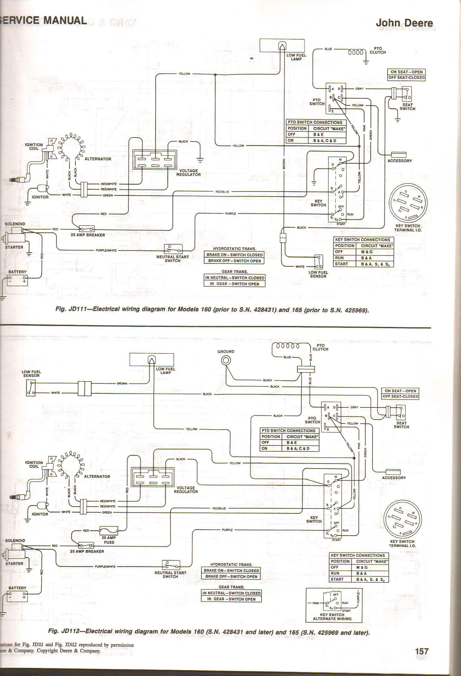Schematics On A 345 John Deere Rk 2830] John Deere Tractor Wiring Schematics Schematic Wiring Of Schematics On A 345 John Deere