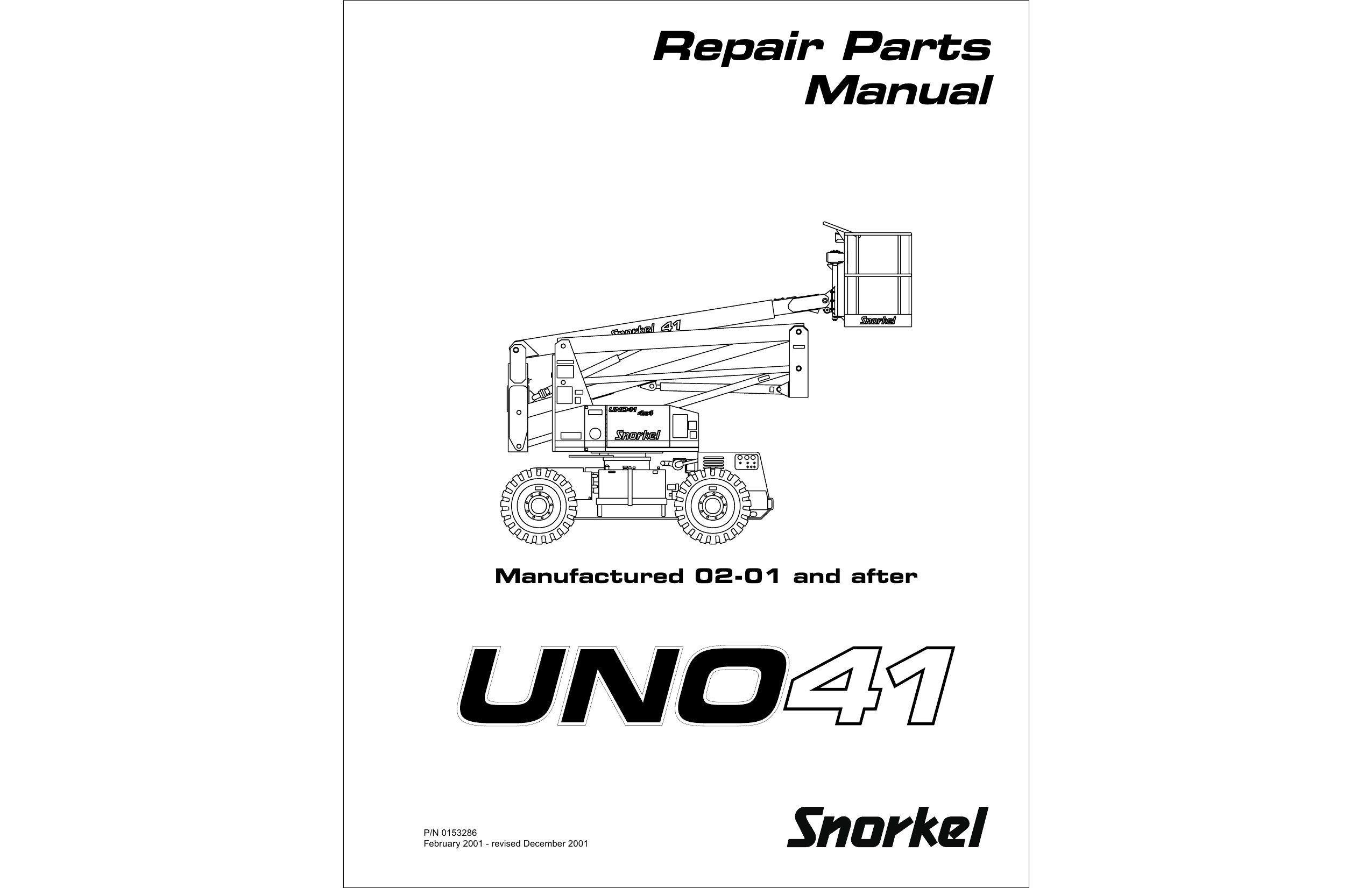 Snorkel Parts Manual atb-33e Dealer Repair Parts Manual Of Snorkel Parts Manual atb-33e Dealer