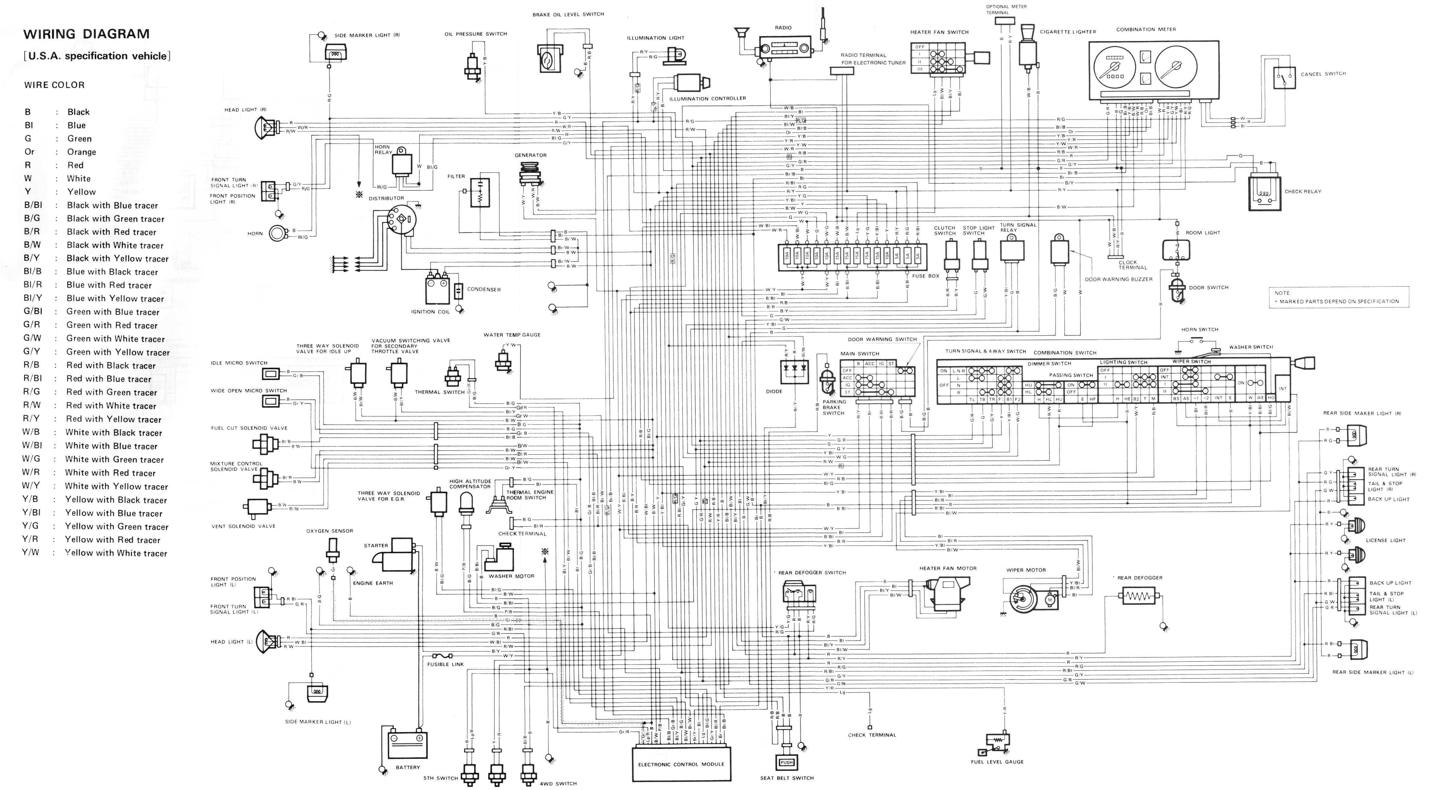 Suzuki Samurai Wiring Schematic 3839 1986 toyota Cressida Wiring Diagram Of Suzuki Samurai Wiring Schematic