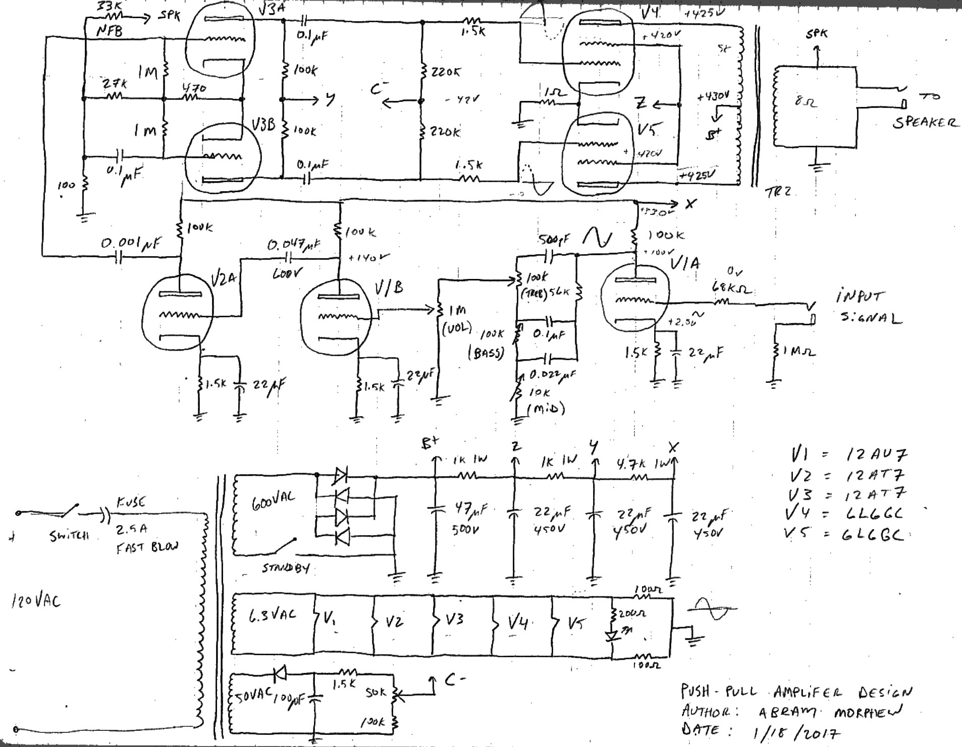 Tda 2040 Stereo Schematic Tube – Notes to Self Of Tda 2040 Stereo Schematic