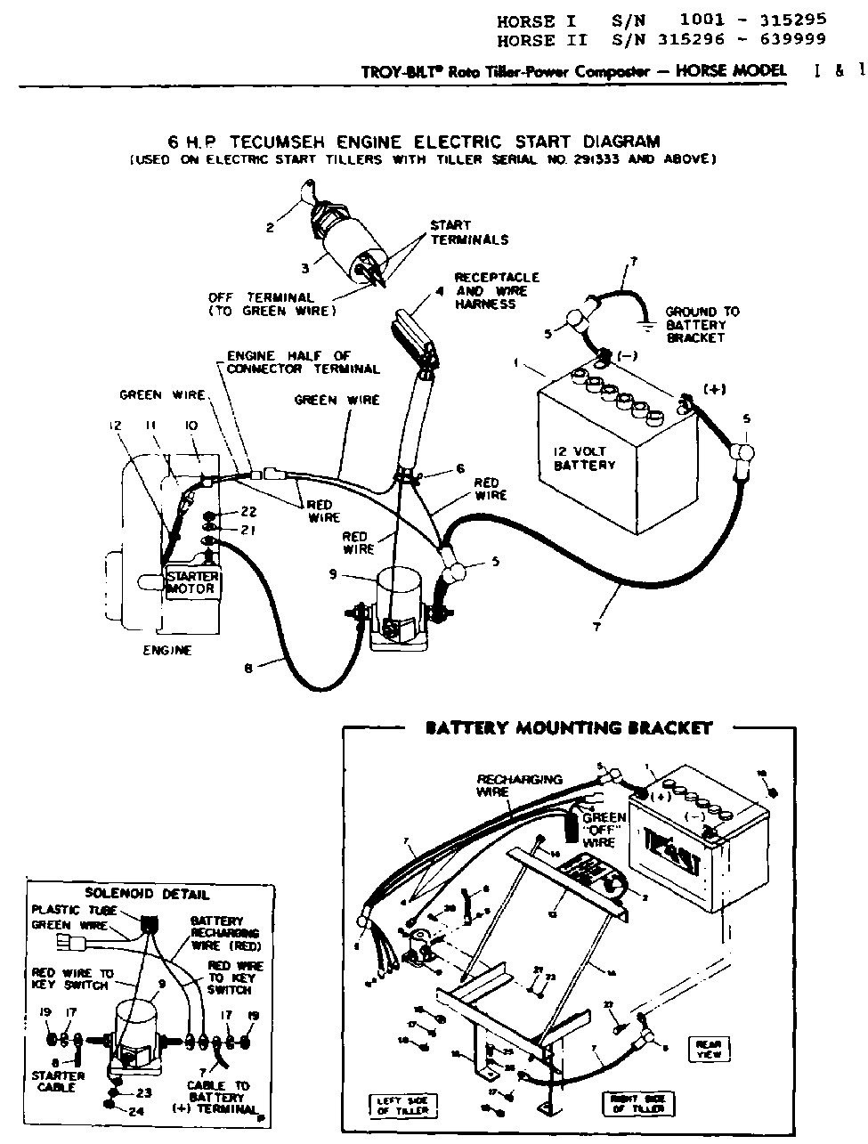 Tecumseh Tc20a-g-404-115 Wiring Diagram I Have A Tecumseh Hh60 F On A Troy Bilt Horse the Ignition Switch Fell Apart I Installed Of Tecumseh Tc20a-g-404-115 Wiring Diagram