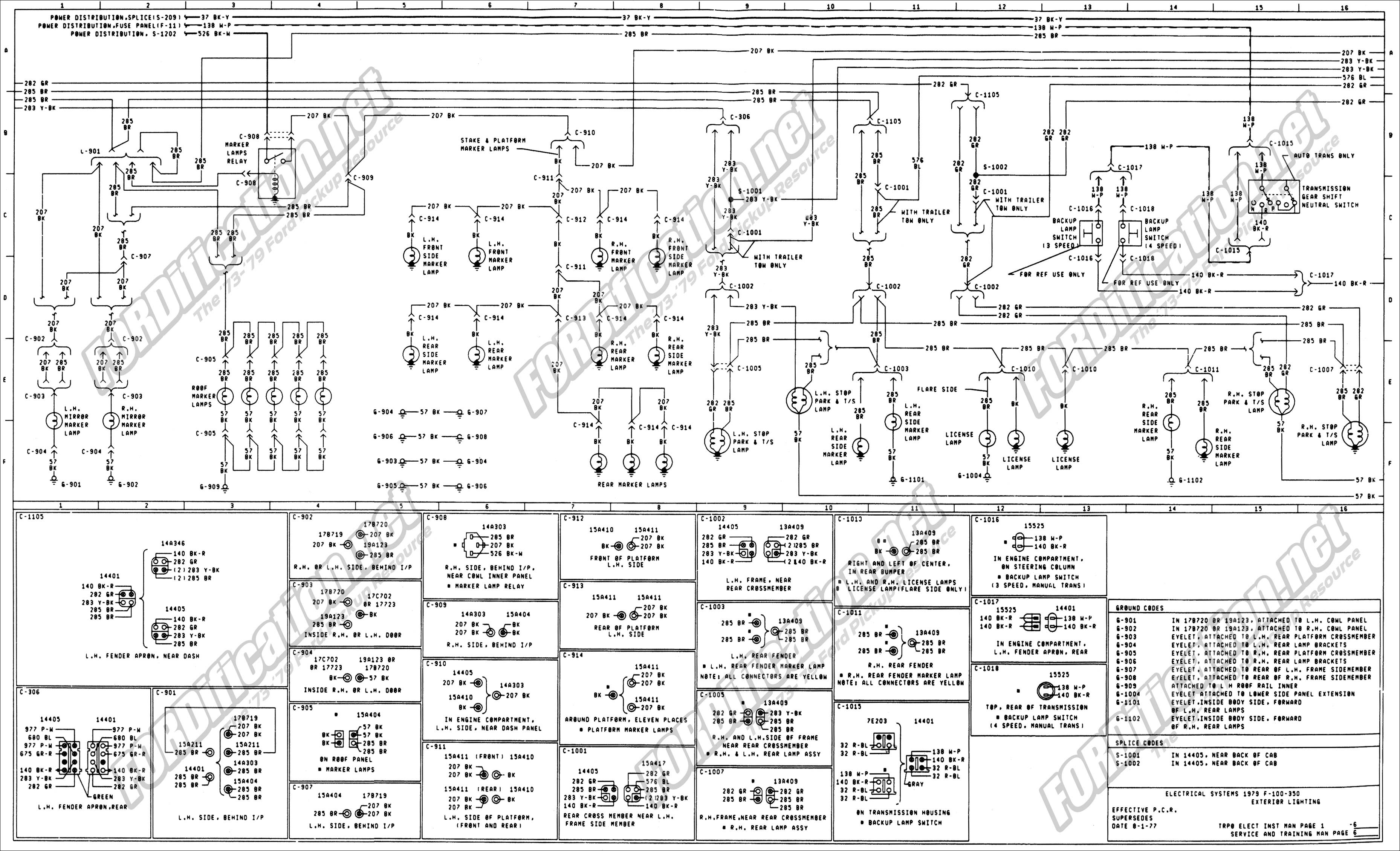 Wire Diagram for 2002 F550 Tail Lights 688 ford F 350 Tail Light Wiring Diagram Of Wire Diagram for 2002 F550 Tail Lights 1973 1979 ford Truck Wiring Diagrams & Schematics