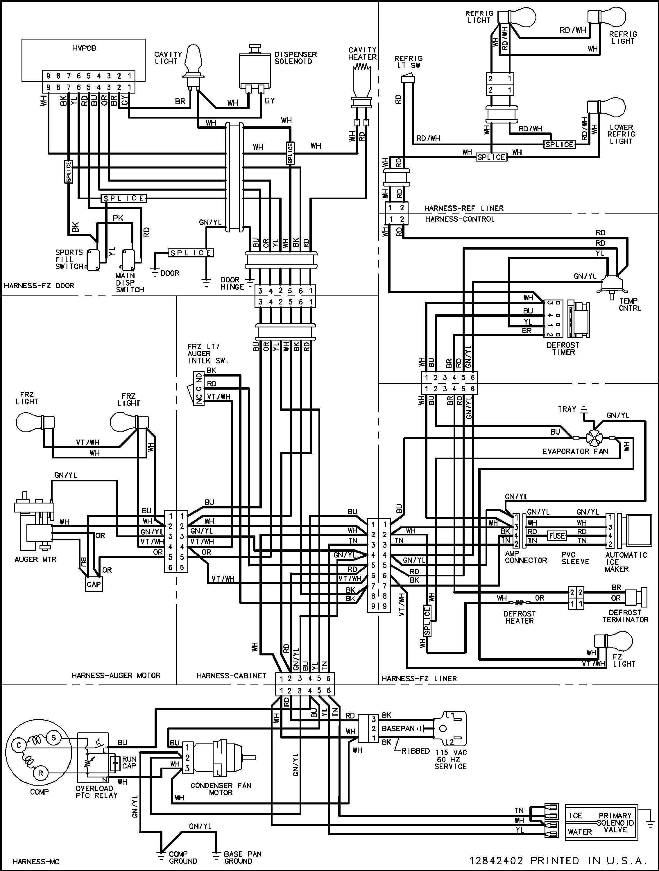 Wire Diagram for Samsung Dryer Model Dve52m8650v/a3 Collection Samsung Refrigerator Wiring Diagram Sample Of Wire Diagram for Samsung Dryer Model Dve52m8650v/a3