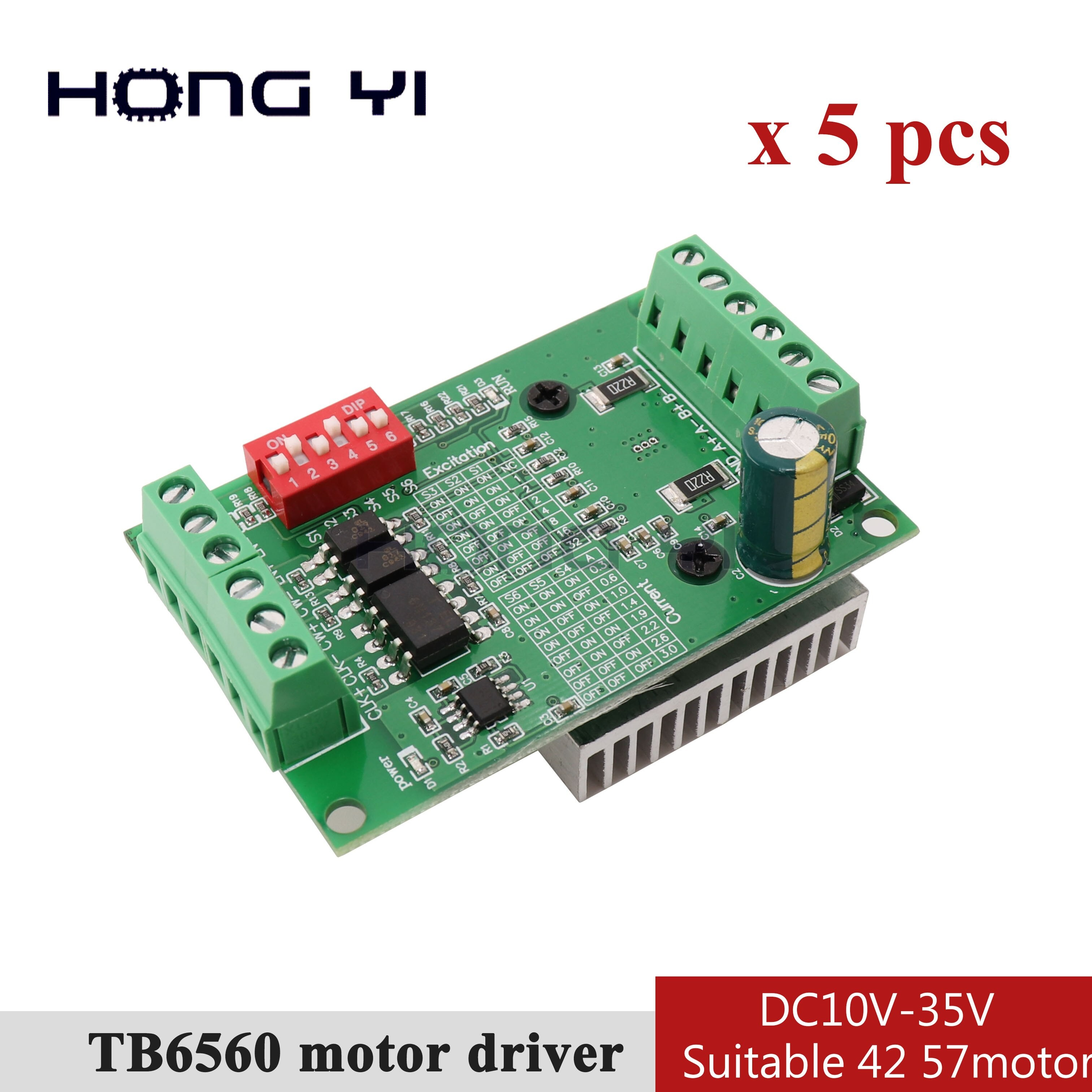 Wireing Diagram 4 Axis Tb6560 Driver Board 5pcs Tb6560 3a Stepper Motor Drives Cnc Stepper Motor Board Single Axis Controller 10 Files Motor Controller Board New Tb6560ahq Of Wireing Diagram 4 Axis Tb6560 Driver Board