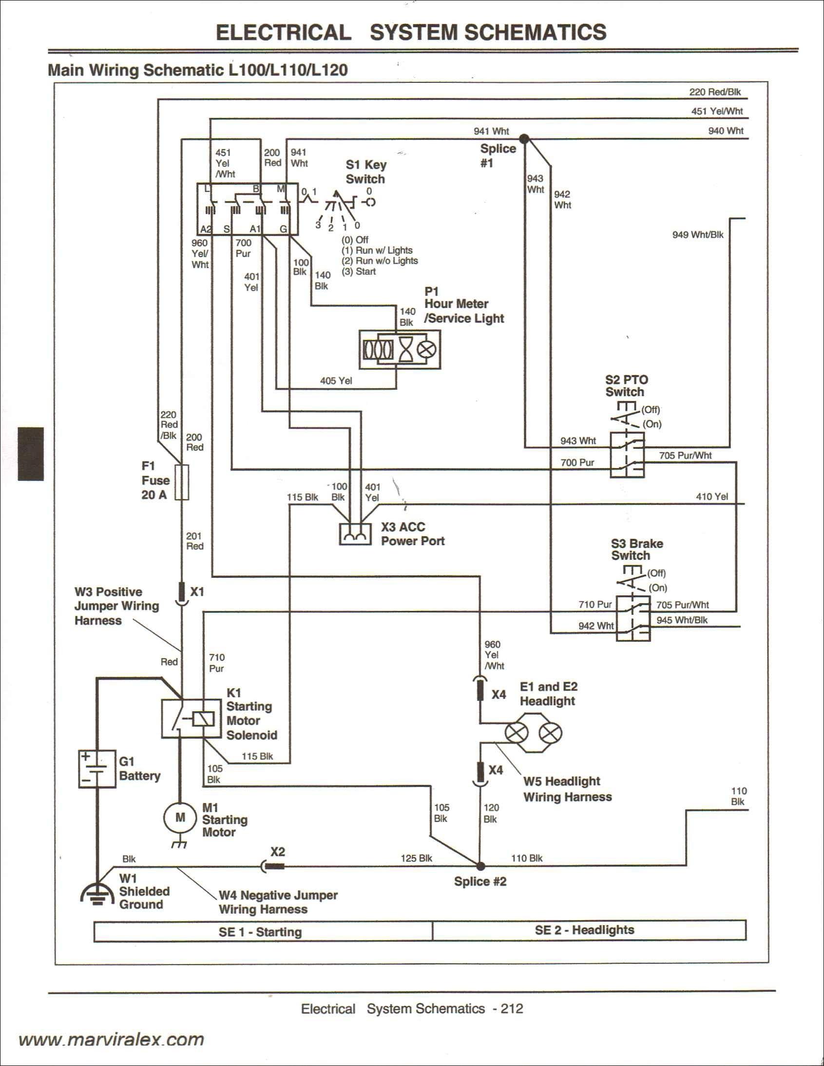Wireing Diagram for John Deere 345 Kn 1432] John Deere Gator Ignition Wiring Diagram View Of Wireing Diagram for John Deere 345