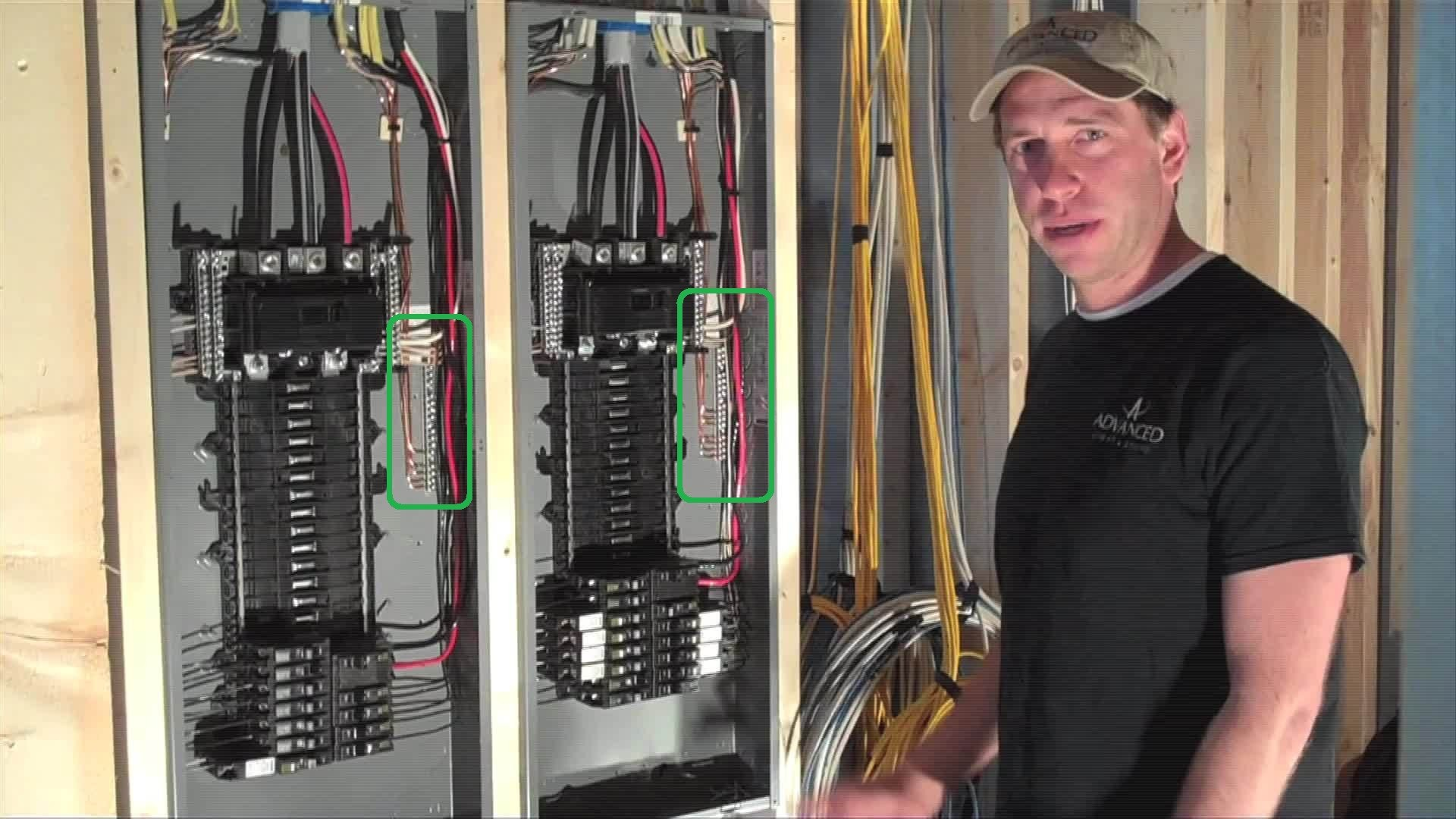 Wiring A Homeline Load Center Configuring A Plug On Neutral Breaker Panel as A Subpanel Of Wiring A Homeline Load Center