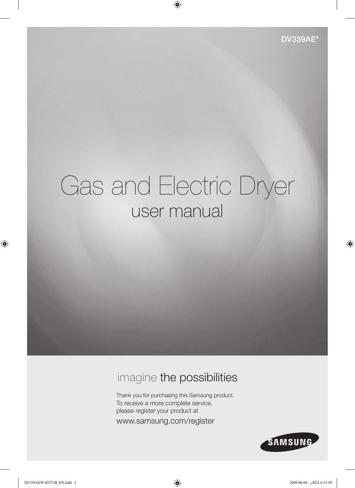 Wiring Diagrahm for Samsung Gas Dryer Samsung Dv339aeg Xac User Manual Of Wiring Diagrahm for Samsung Gas Dryer