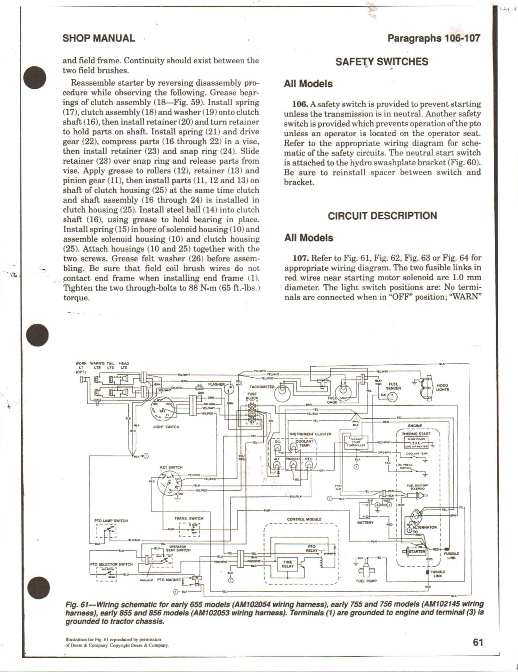 Wiring Diagram 318 John Deere 56d25 John Deere 655 Wiring Diagram Of Wiring Diagram 318 John Deere