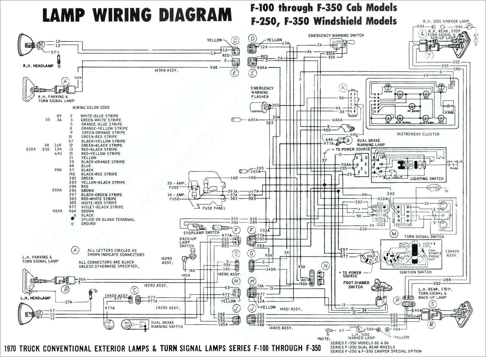 Wiring Diagram for 2000 ford F250 Taillights Pool Light Wiring Diagram