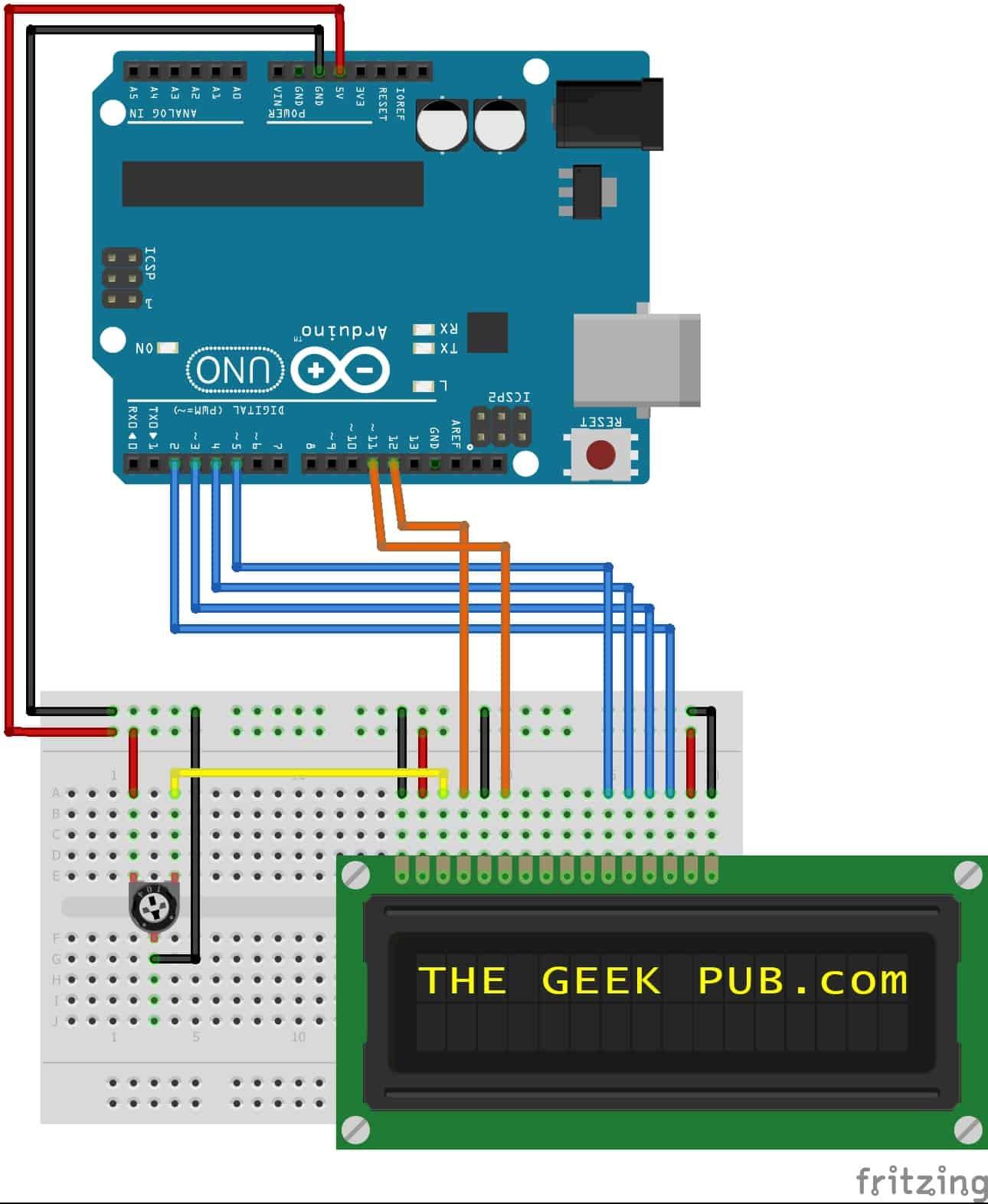 Wiring Diagram for Arduino Maker Arduino Lcd Display Wiring the Geek Pub Of Wiring Diagram for Arduino Maker