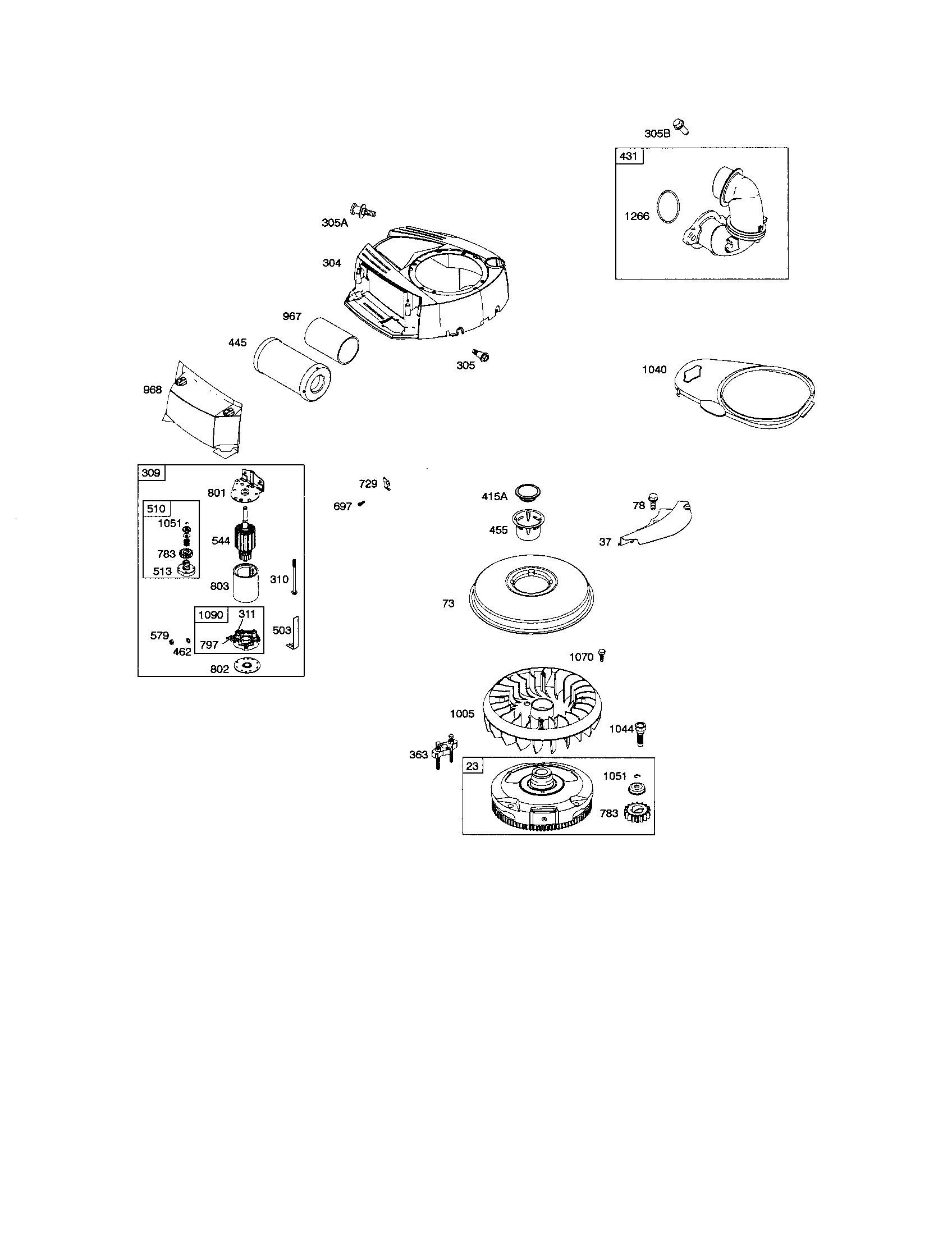 17.5 Intek Parts Diagram Briggs & Stratton 0805 E1 Lawn & Garden Engine Parts Of 17.5 Intek Parts Diagram