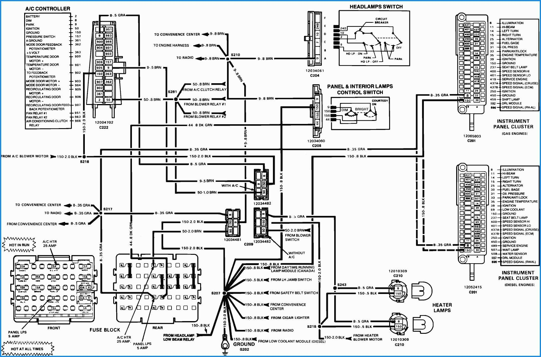 1993 Chey S 10 Headlight Wiring Diagram Diagram] 1984 Gmc High Sierra Wiring Diagram Full Version Hd Of 1993 Chey S 10 Headlight Wiring Diagram