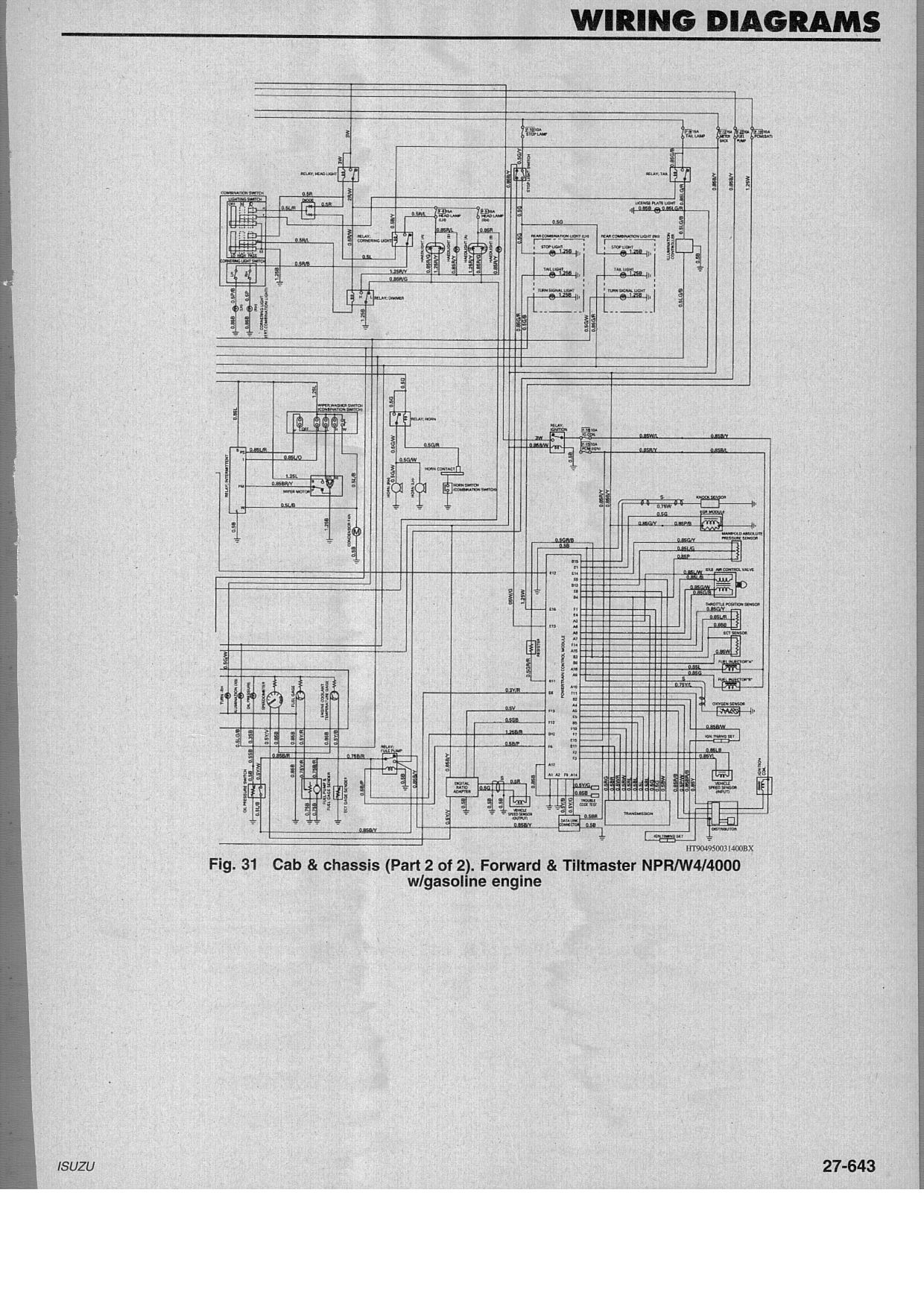 1993 Chey S 10 Headlight Wiring Diagram Diagram] 1993 isuzu Npr Wiring Diagram Full Version Hd Of 1993 Chey S 10 Headlight Wiring Diagram