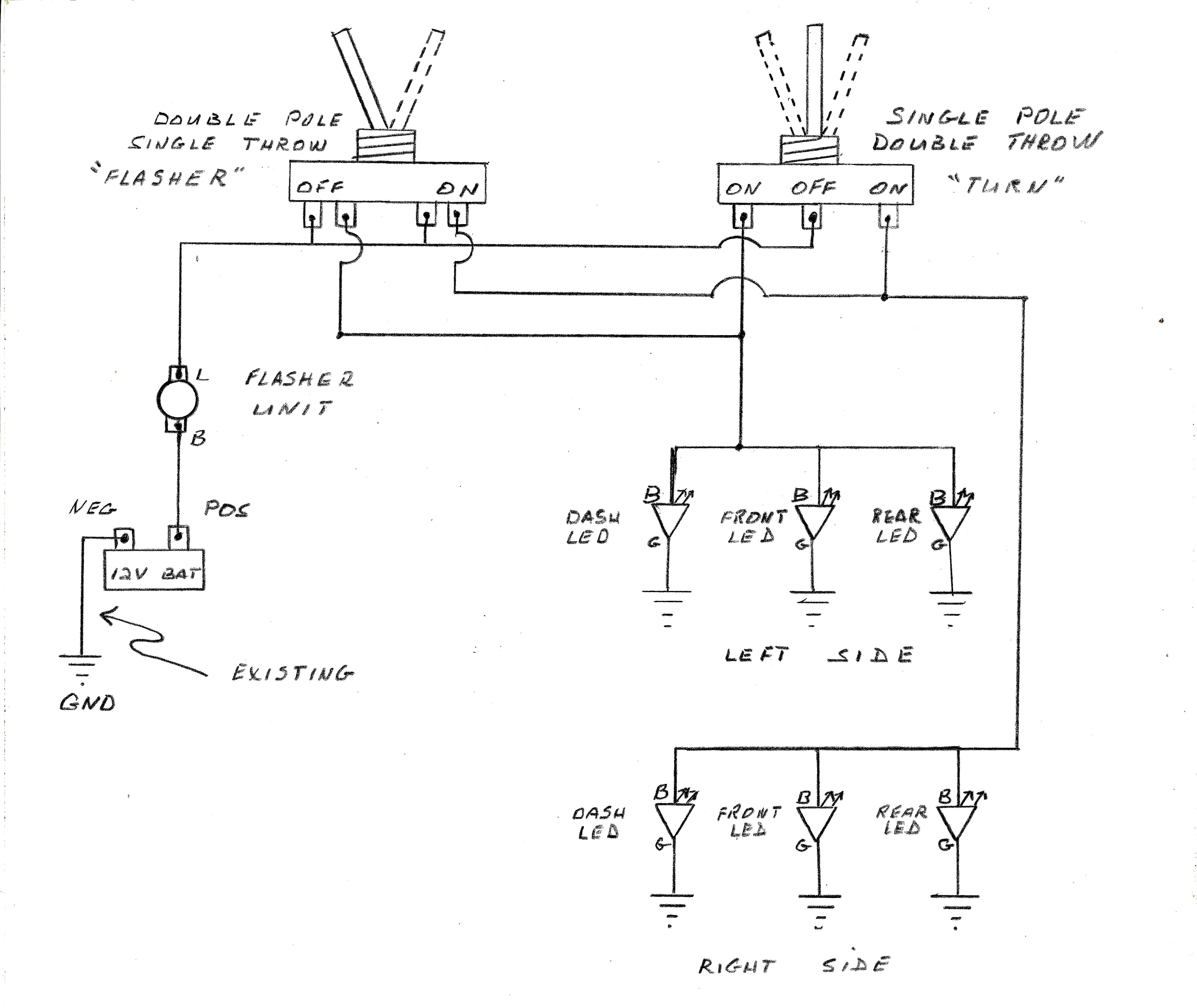 2 Prong Flasher Wiring Diagram] toyota Turn Signal Wiring Diagram Full Version Hd Of 2 Prong Flasher Wiring