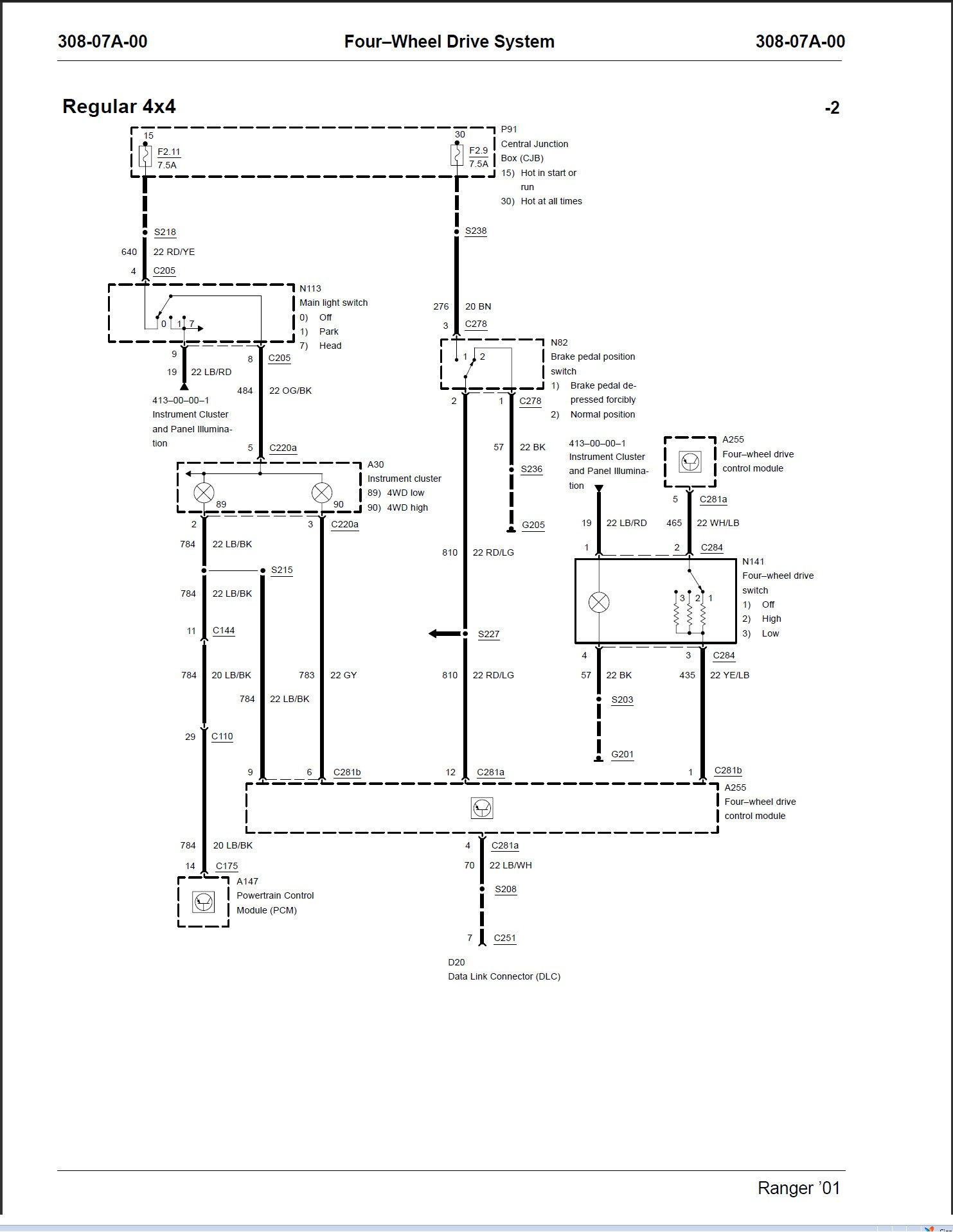 2000 ford F150 Ignition Switch Wiring Diagram ford Transfer Case Wiring Diagram Wiring Diagram Symbols Of 2000 ford F150 Ignition Switch Wiring Diagram Diagram] Motorcycle Wiring Diagram Explained Full Version Hd