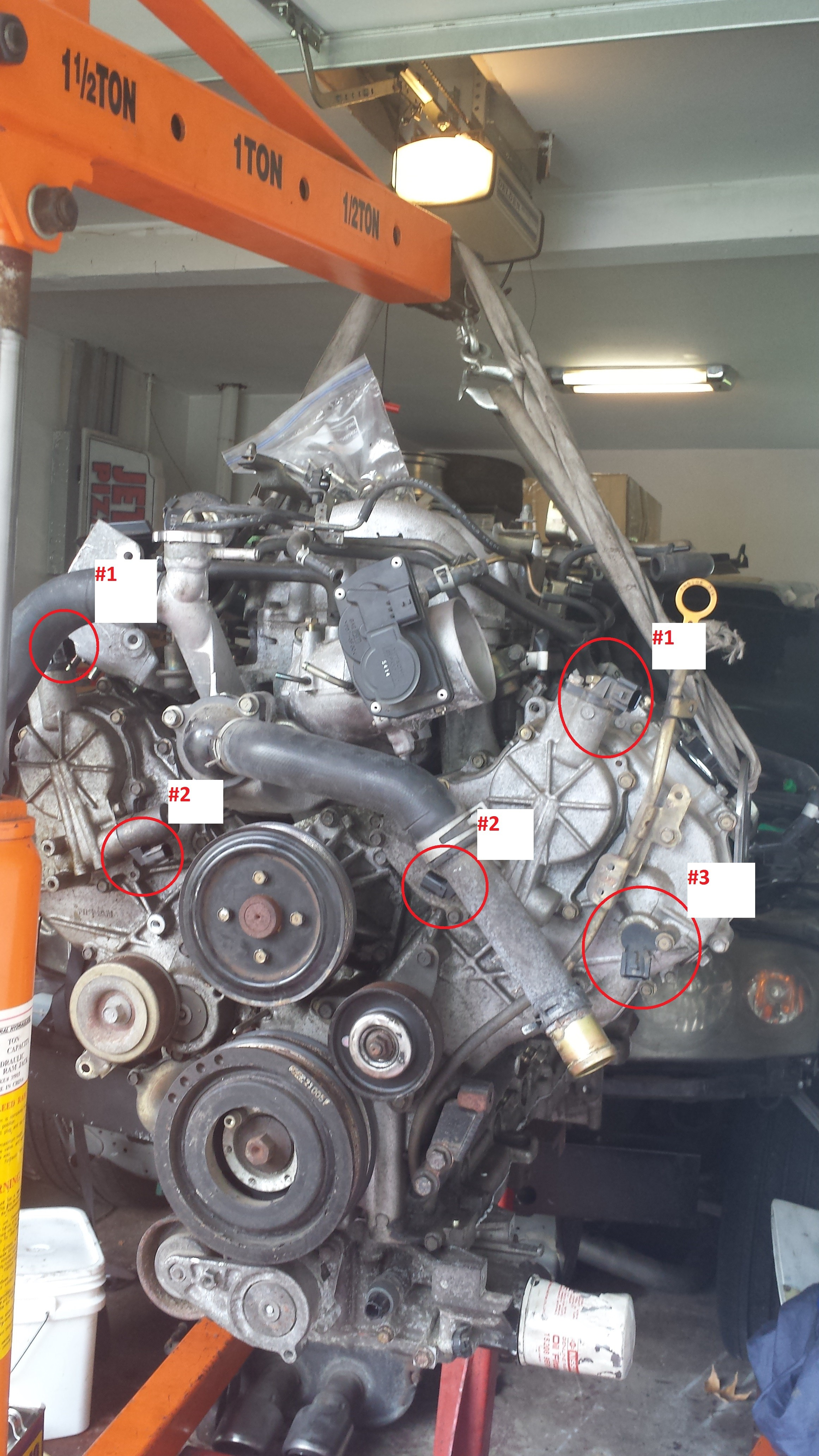 2003 Infinity Po340 Video Howto] Infiniti V8 P0340 & P0335 Camshaft and