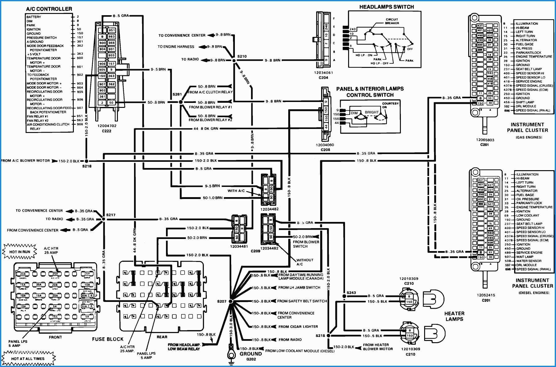 2008 Gmc 25000 Brake Lamp Diagram Diagram] 1984 Gmc High Sierra Wiring Diagram Full Version Hd