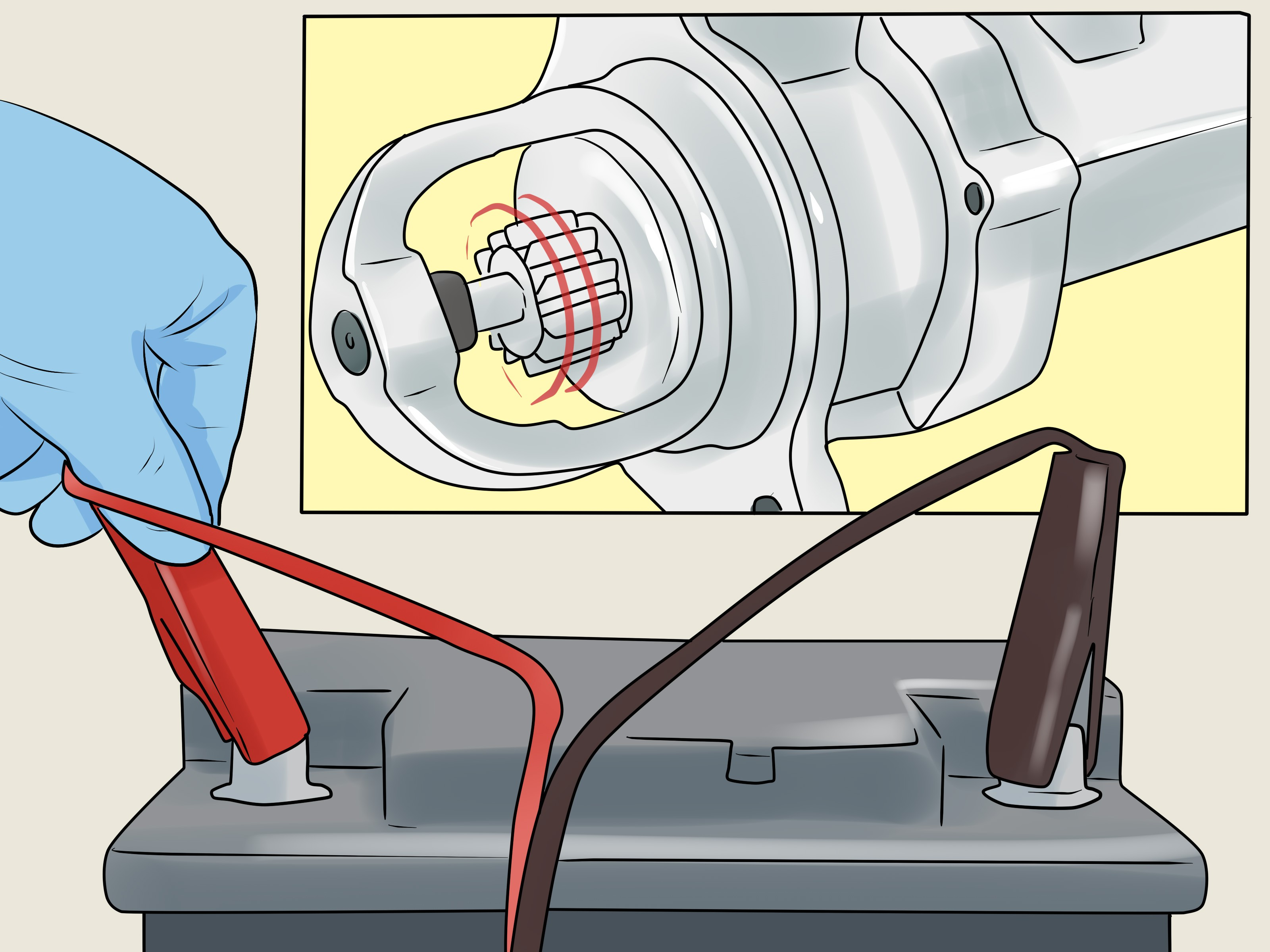 2011 318d John Deere Starter solenoid How to Test A Car Starter 13 Steps with Wikihow Of 2011 318d John Deere Starter solenoid