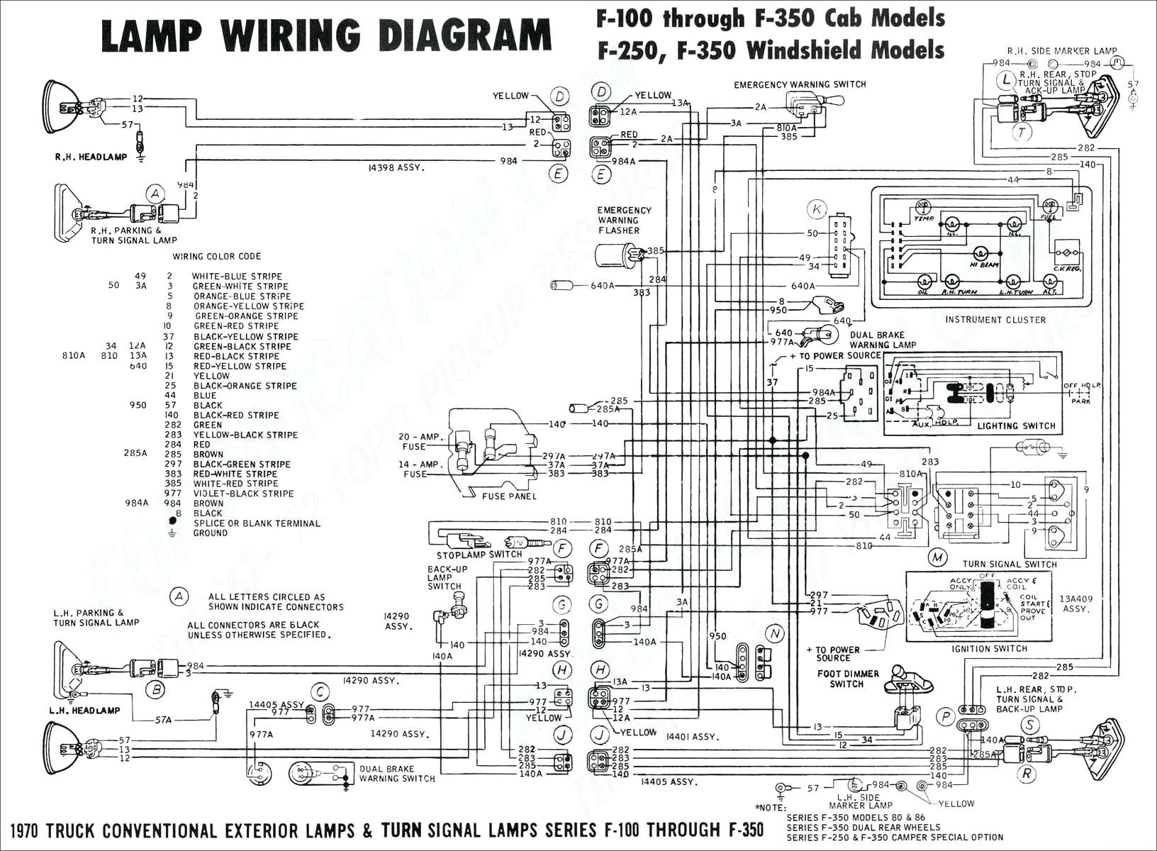 6.7 Powerstroke Wiring Diagrams 1995 ford F 250 Headlight Switch Connector Wiring Schematic Of 6.7 Powerstroke Wiring Diagrams