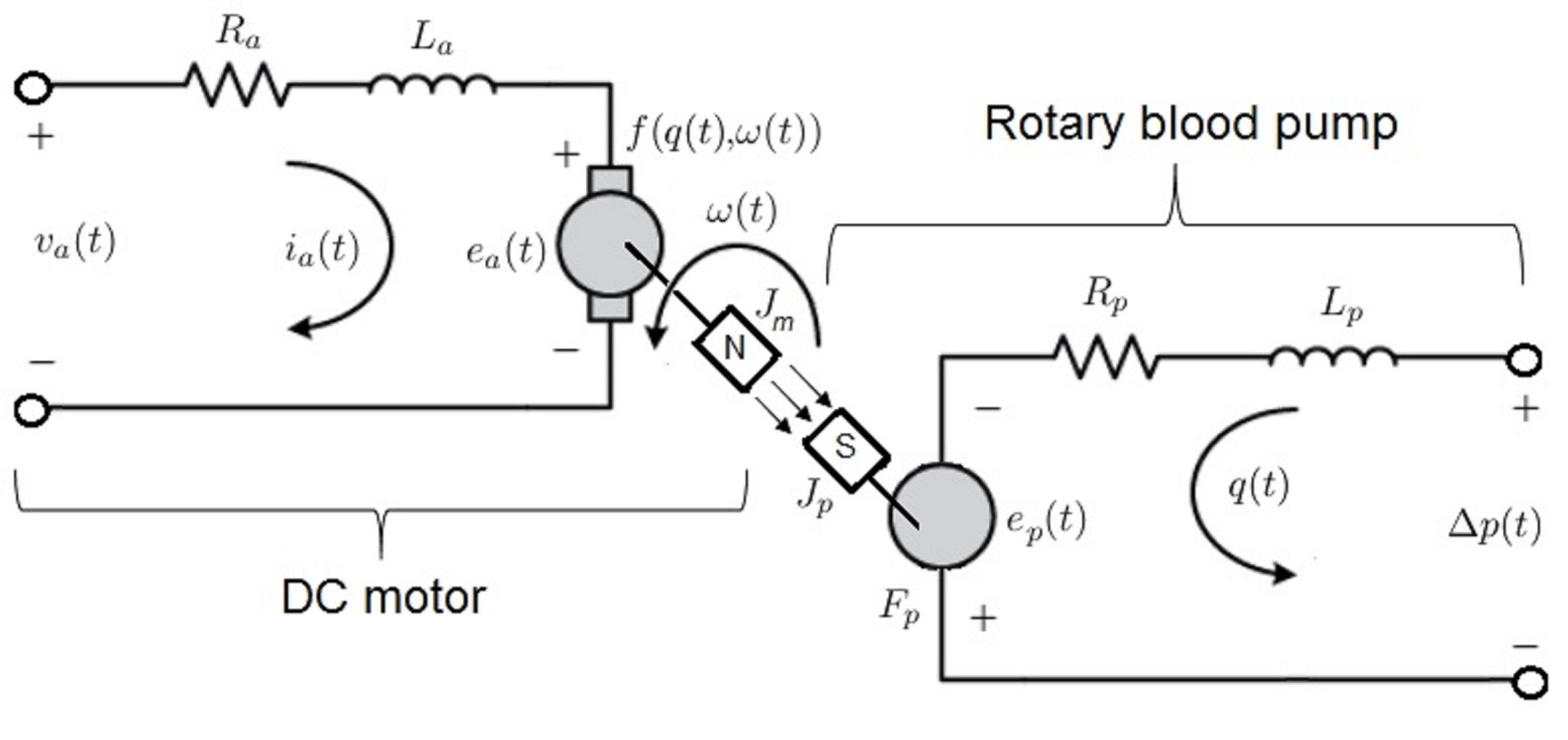 Brushless Dc Motor Diagram Characterization Of A Pediatric Rotary Blood Pump Of Brushless Dc Motor Diagram
