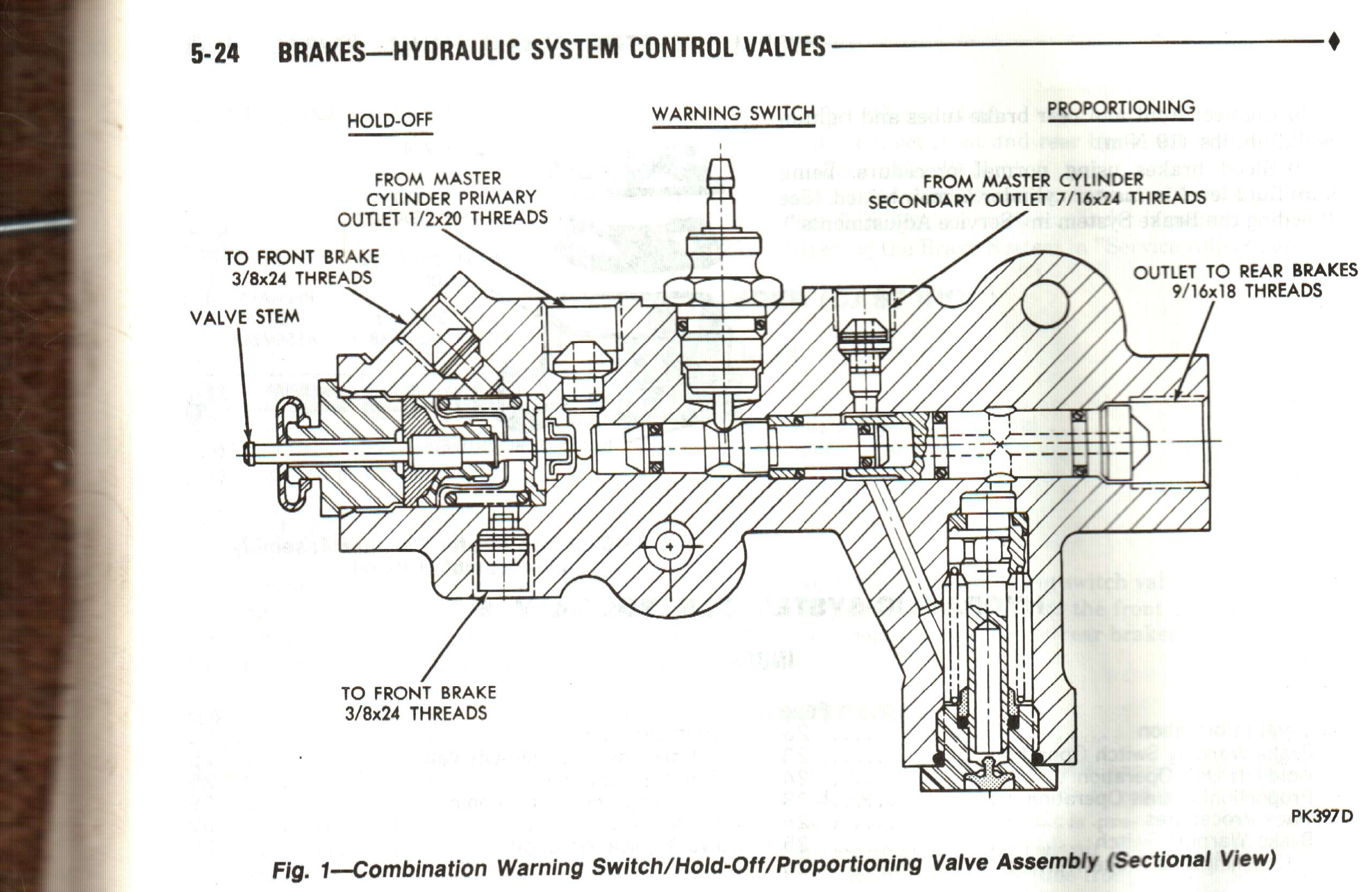 Diagrams Of Brake Proportioning Valve Help Brake Proportioning Valve Dodge Ram Ramcharger Of Diagrams Of Brake Proportioning Valve
