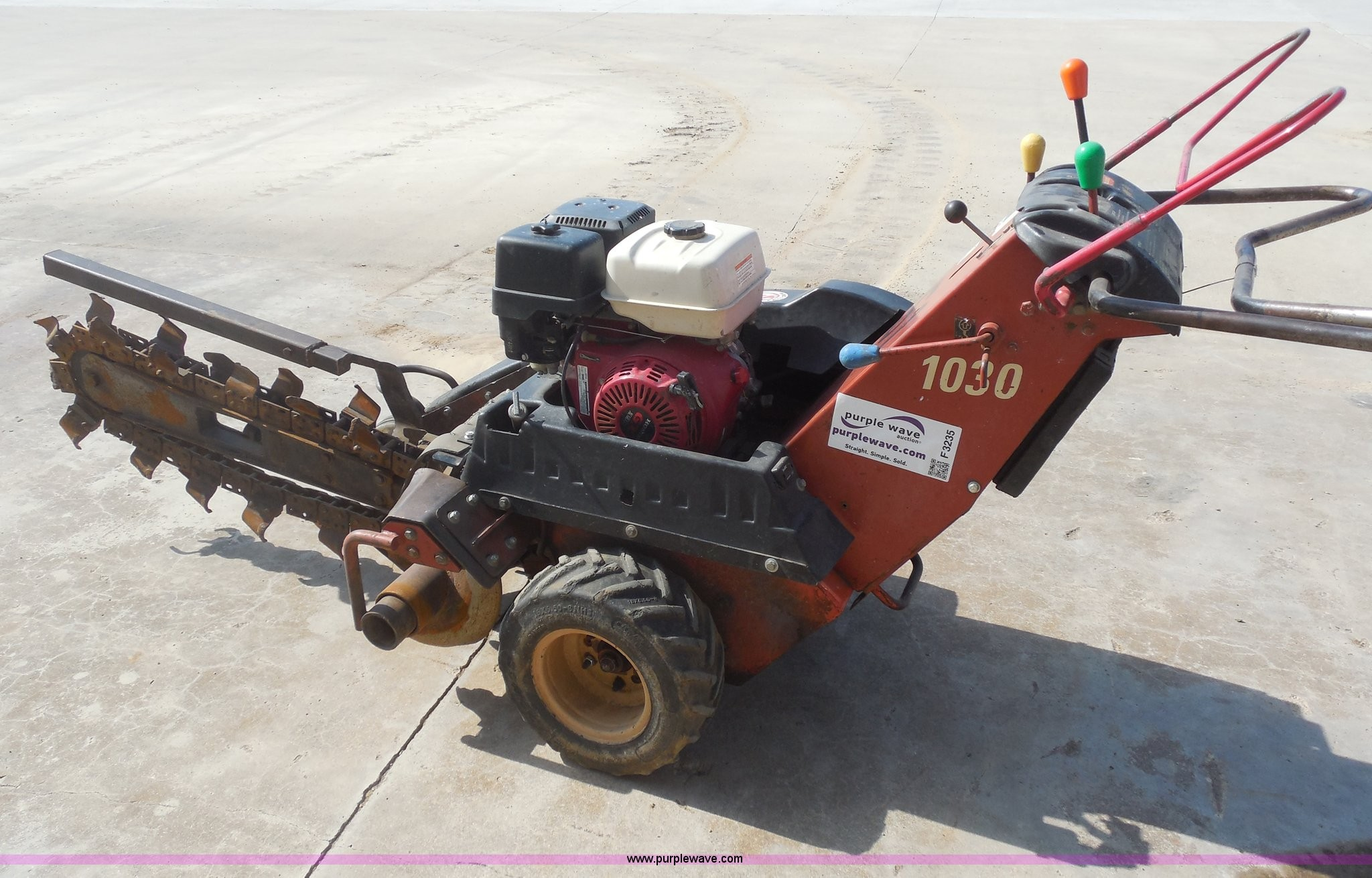 Ditch Witch 1030 Parts Breakdown Ditch Witch 1030 Walk Behind Trencher In Tulsa Ok Of Ditch Witch 1030 Parts Breakdown